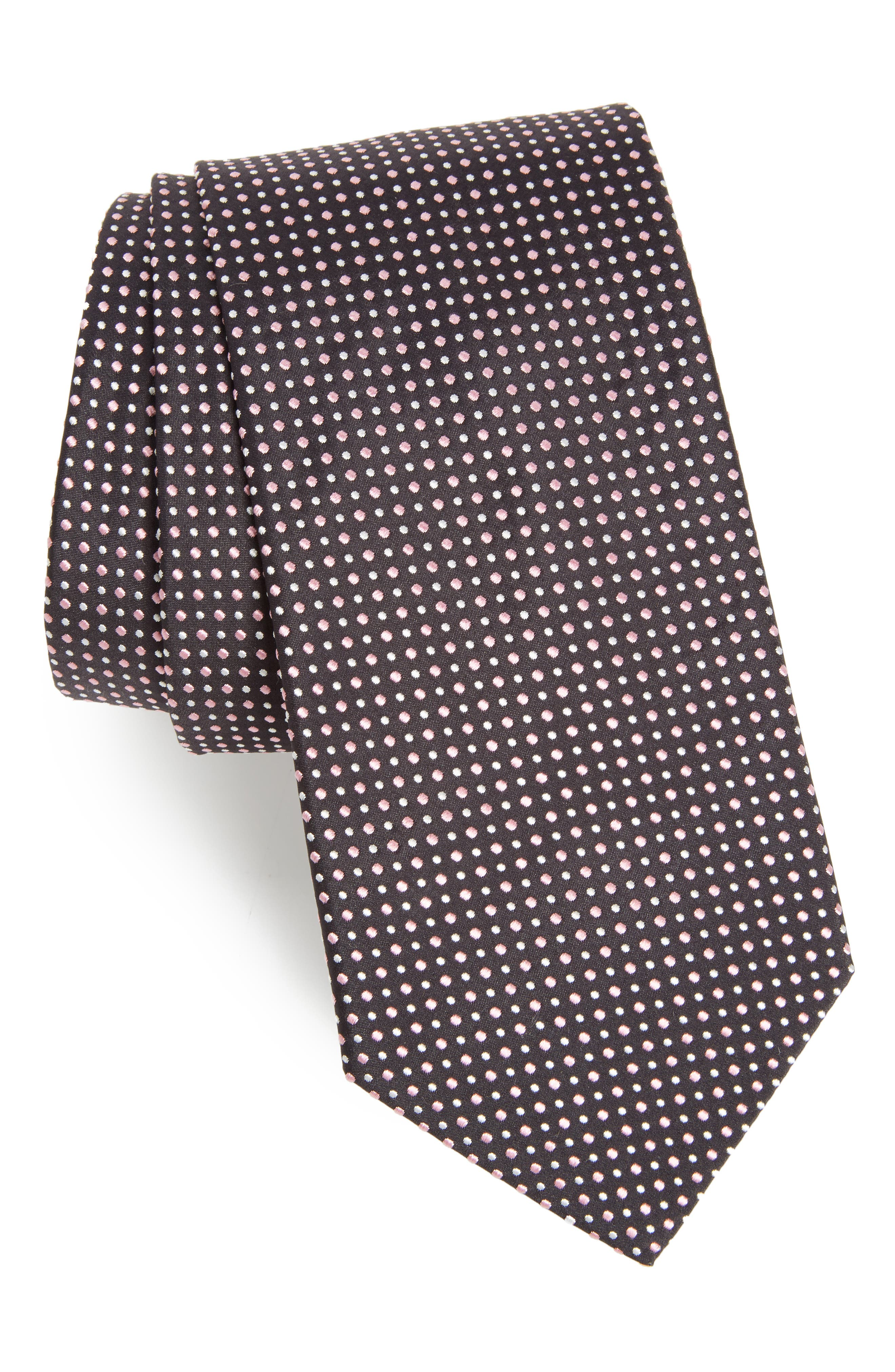 BOSS Dot Silk Tie