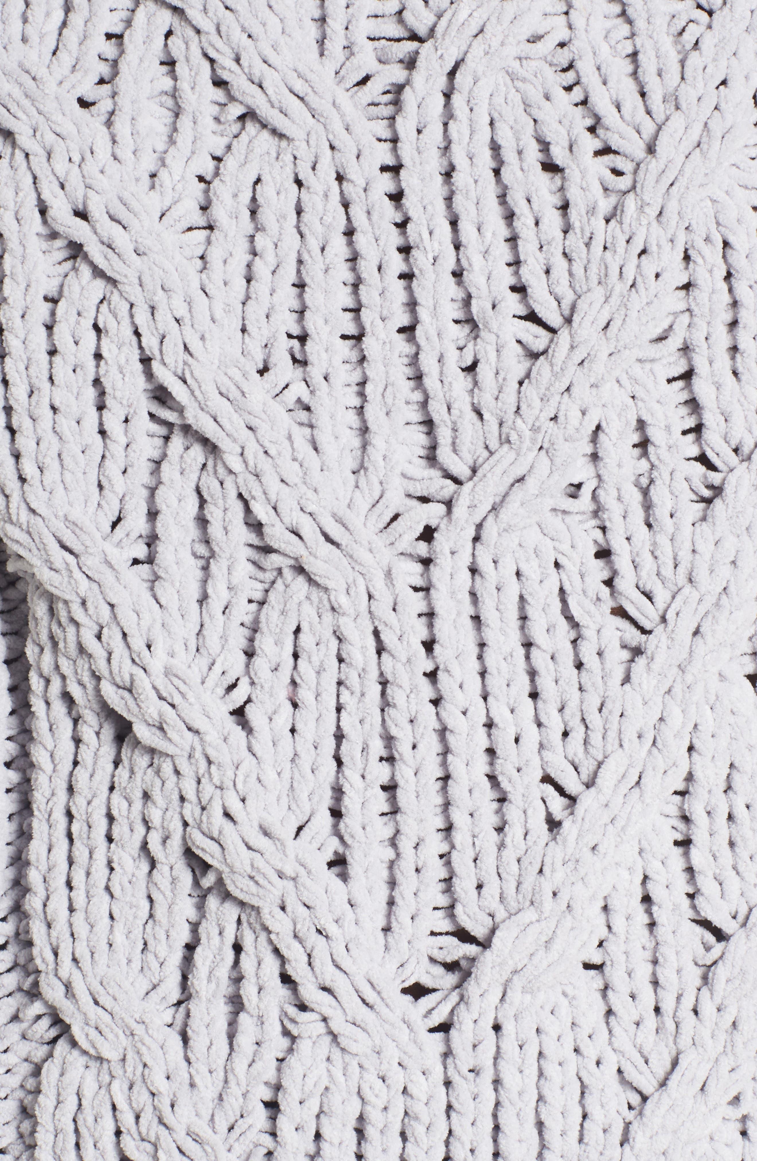 Cozy Crewneck Sweater,                             Alternate thumbnail 5, color,                             Light Grey