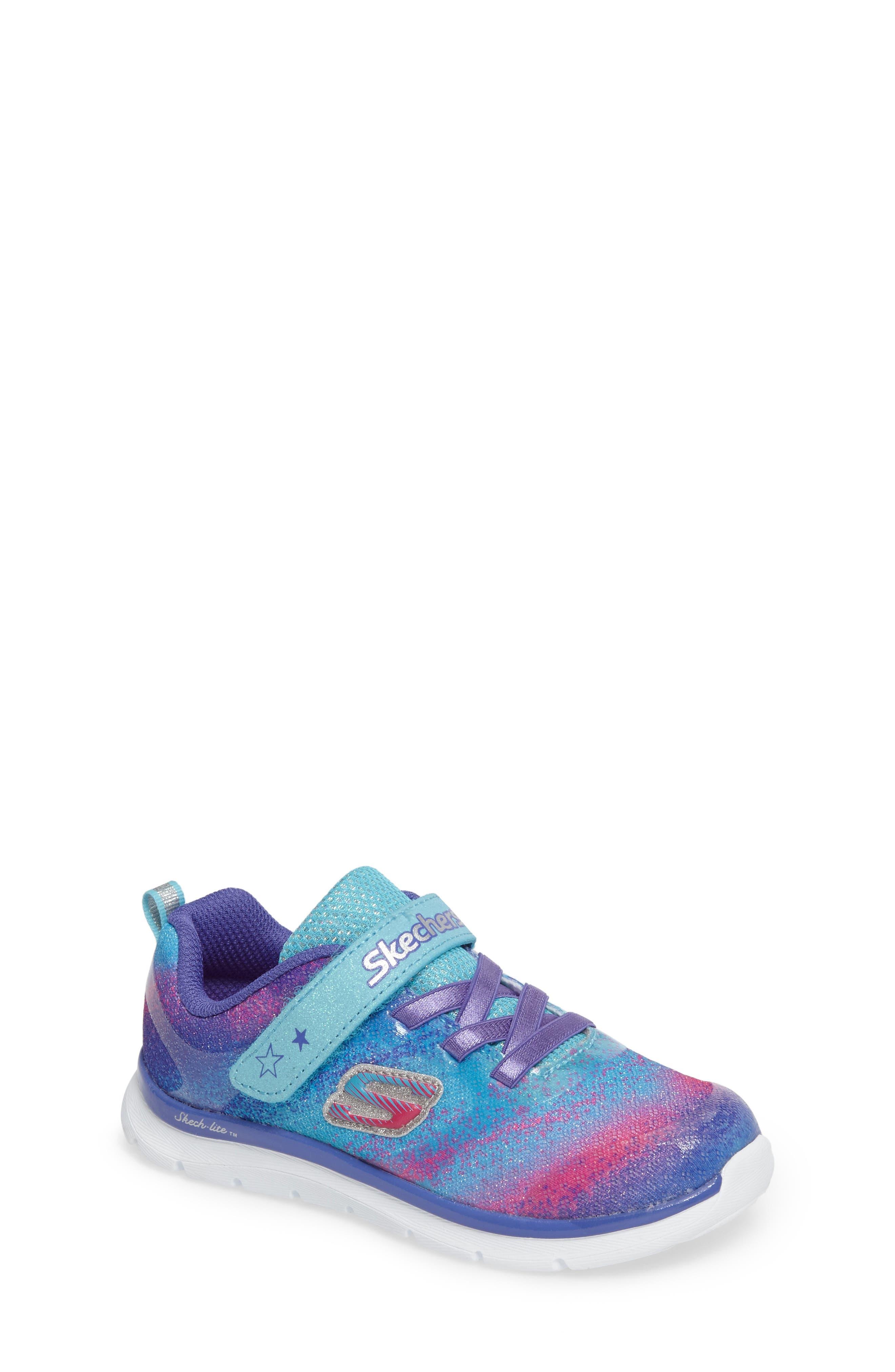 SKECHERS Skech-Lite Colorful Cutie Sneaker (Walker & Toddler)