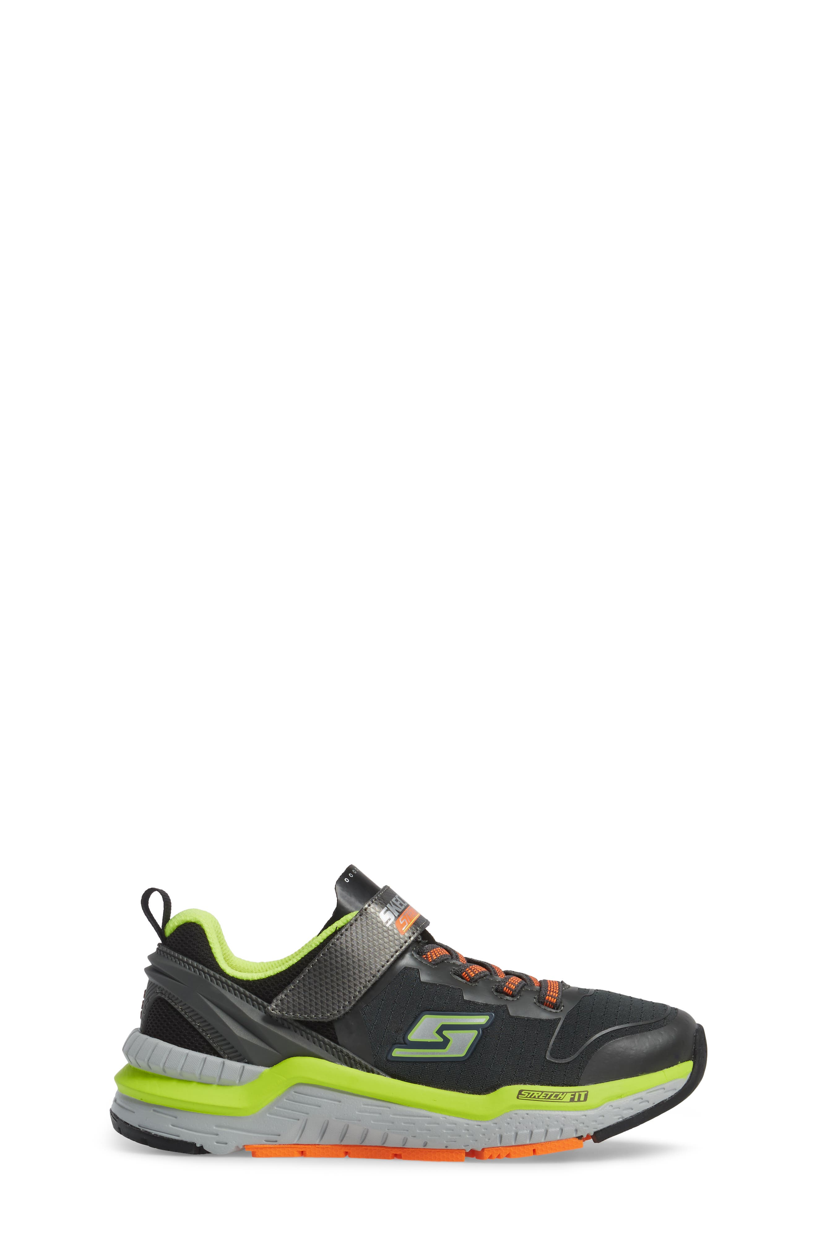 Hyperjolt Sneaker,                             Alternate thumbnail 3, color,                             Charcoal/ Black/ Lime
