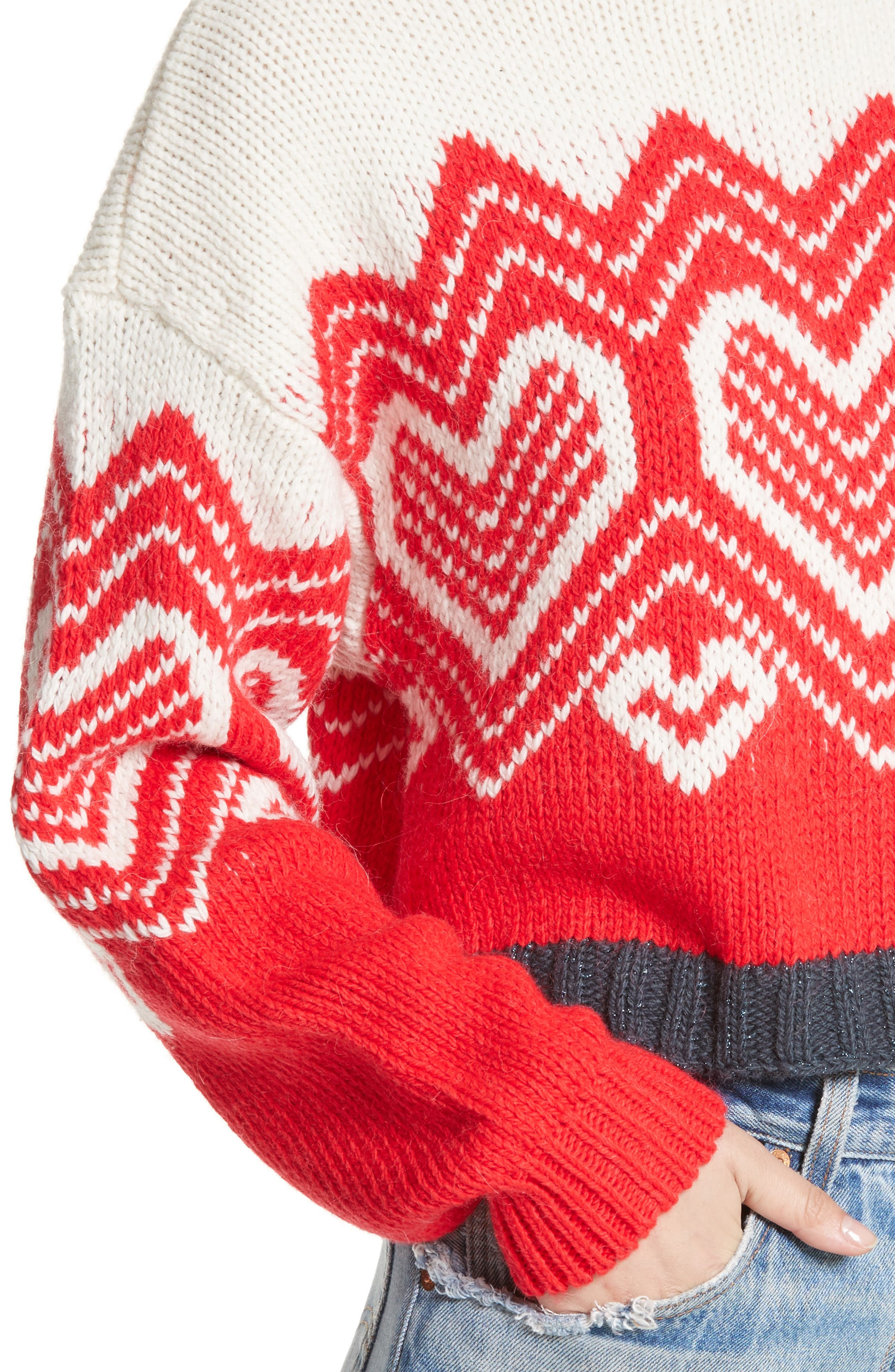 Alternate Image 4  - Free People I Heart You Sweater