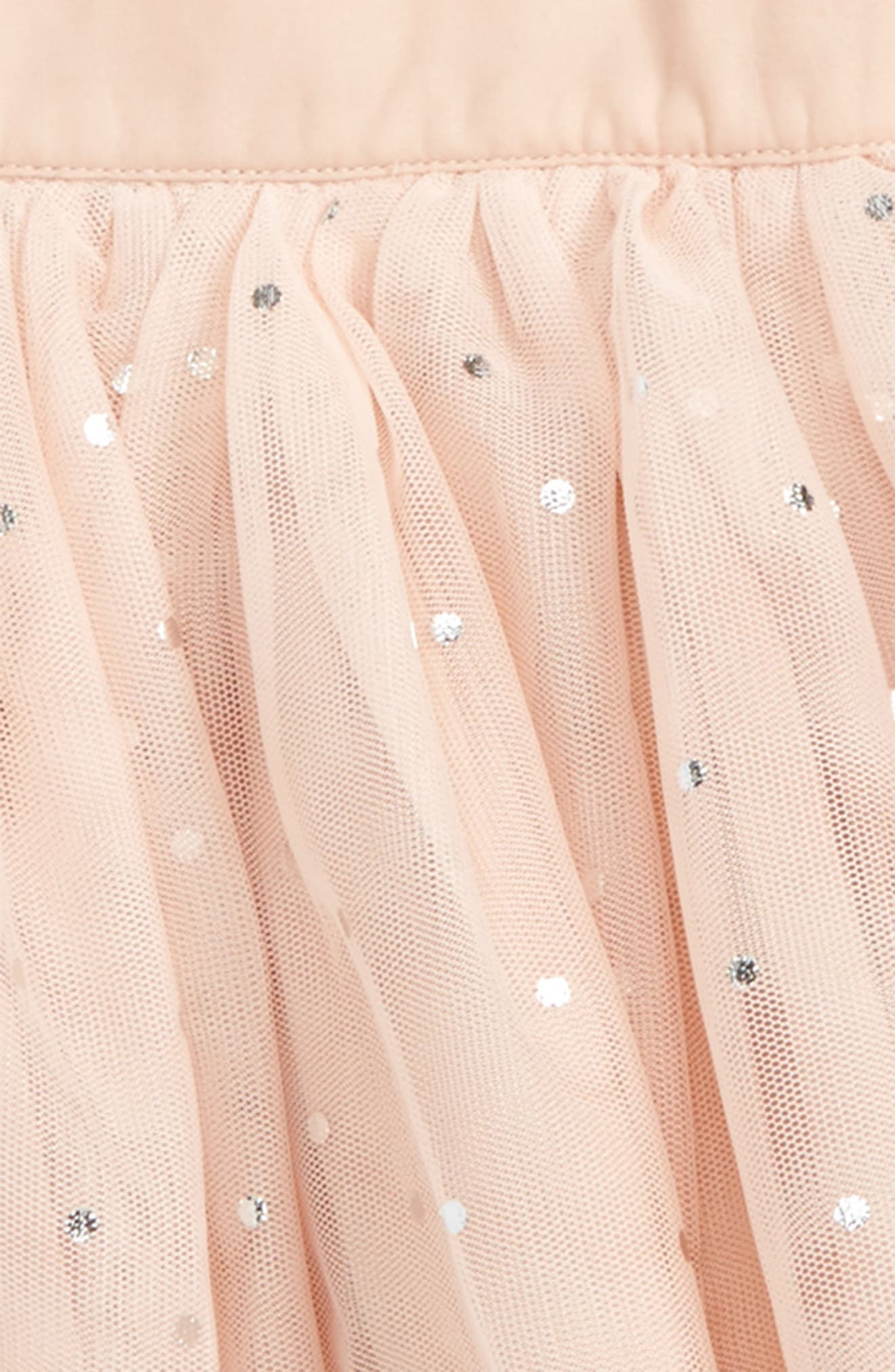 Kids Honey Sparkle Tulle Skirt,                             Alternate thumbnail 2, color,                             Pearl Pink