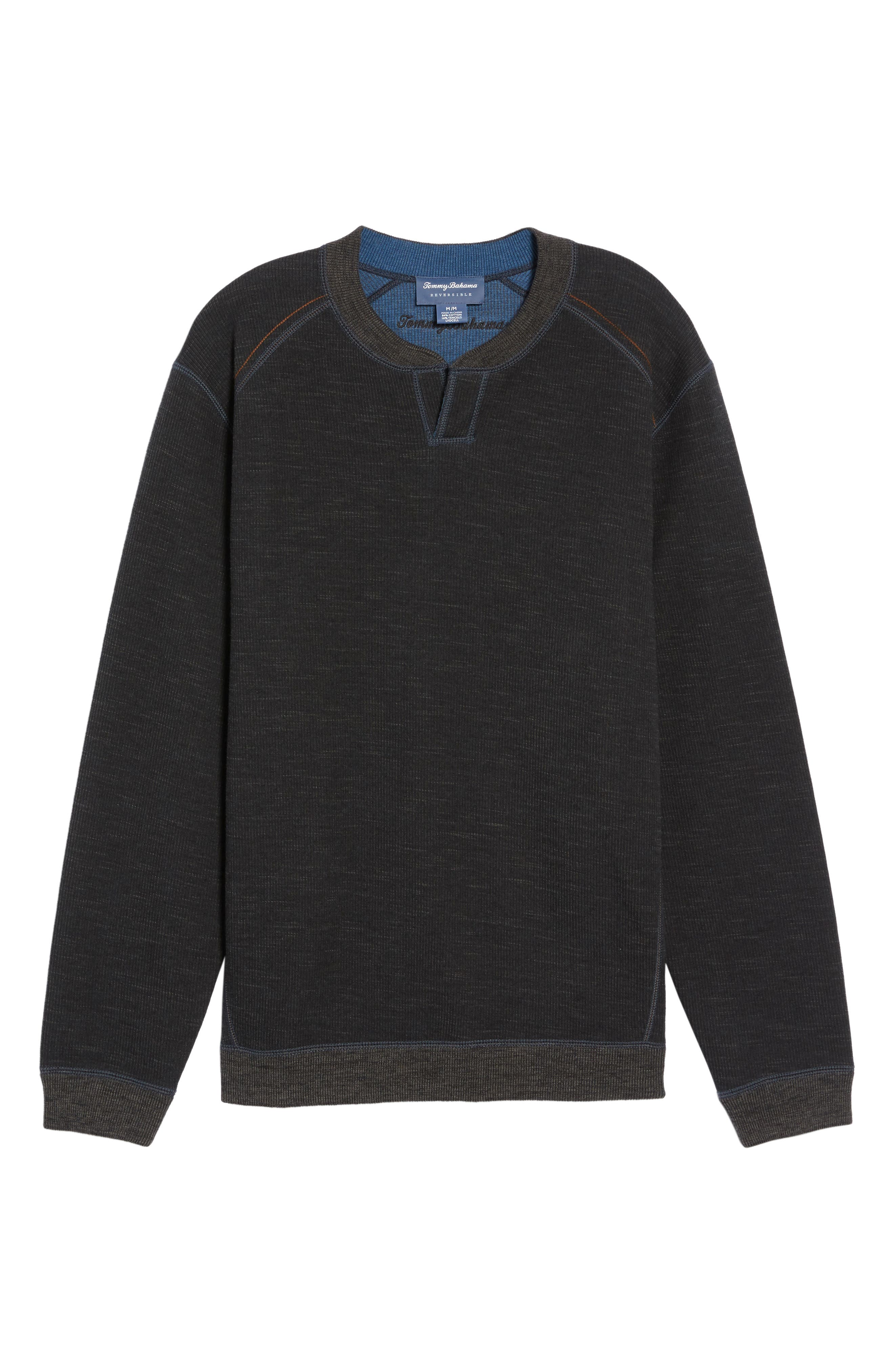 Flipsider Abaco Pullover,                             Alternate thumbnail 5, color,                             Black