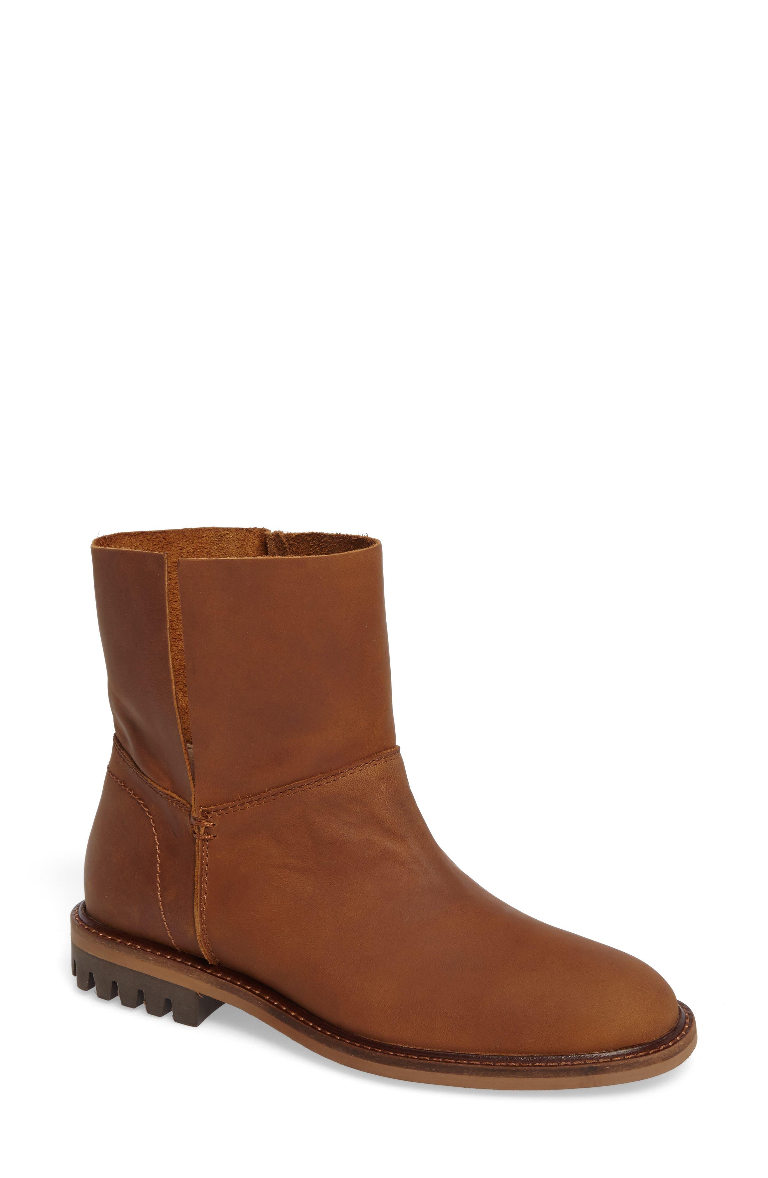 Borough Boot,                         Main,                         color, Chestnut