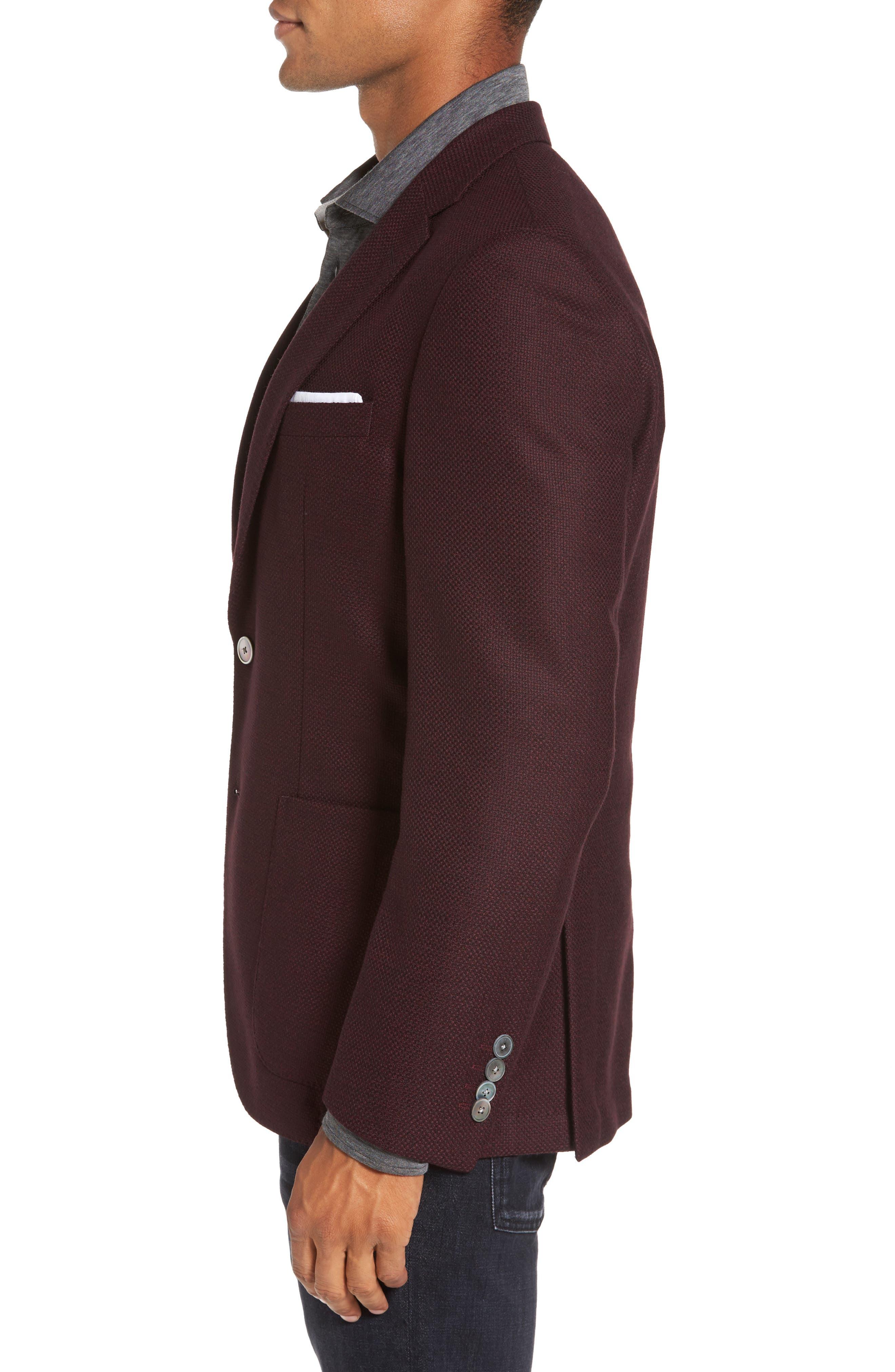 Alternate Image 3  - BOSS Janson Trim Fit Wool Blazer