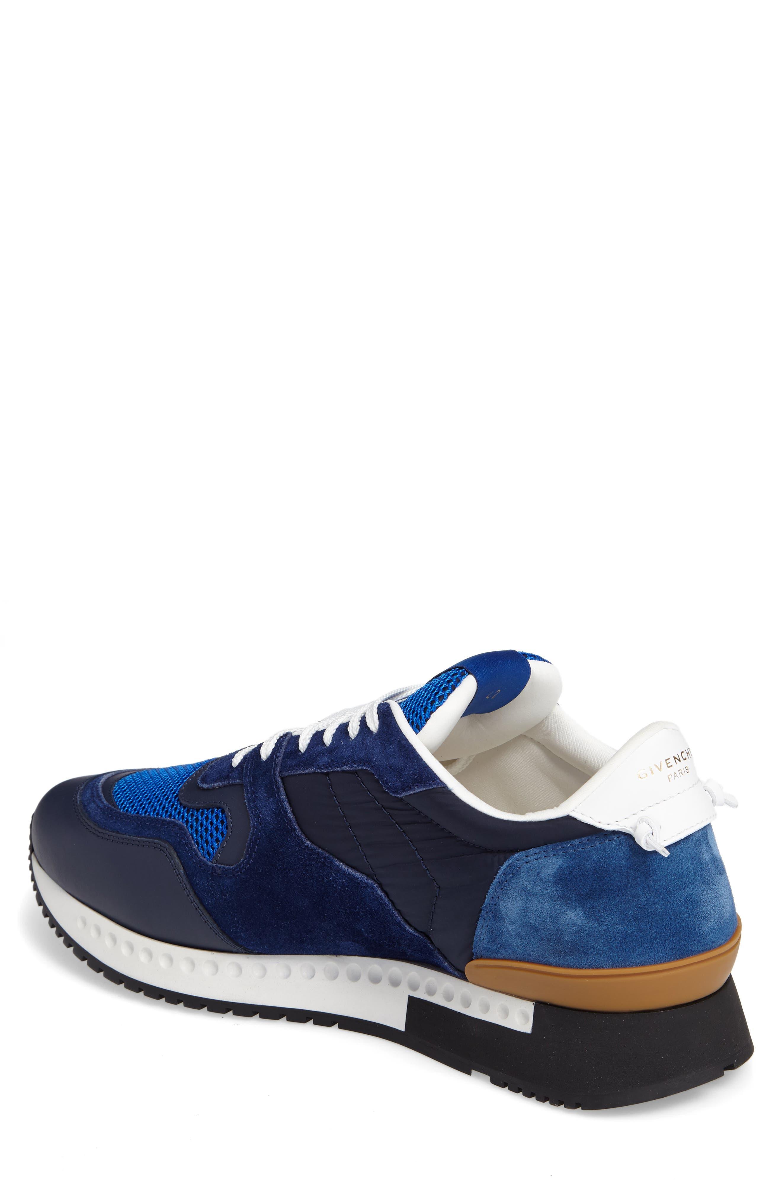 Alternate Image 2  - Givenchy Mixed-Finish Sneaker (Men)