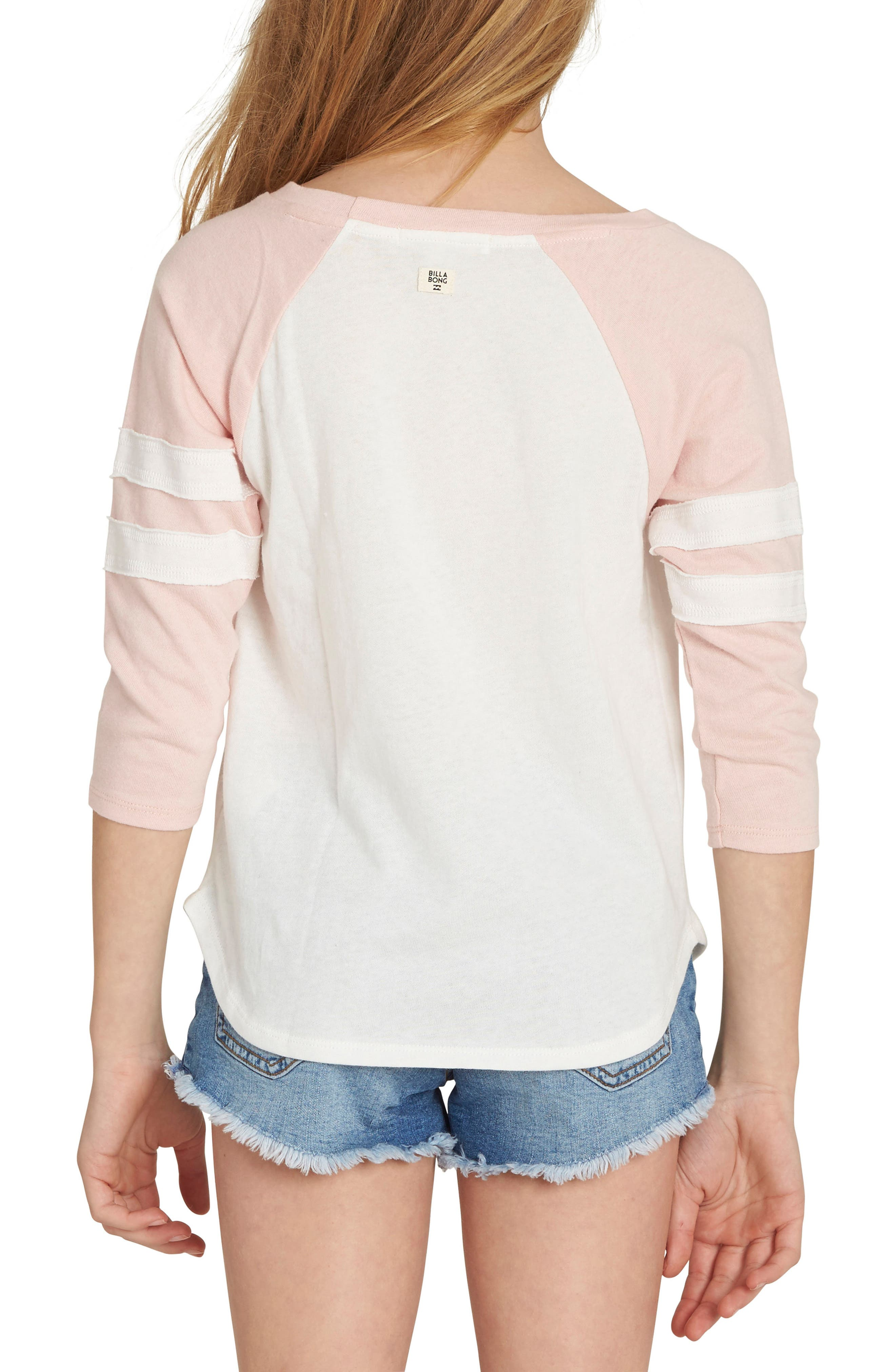 Surf Babe Graphic Tee,                             Alternate thumbnail 2, color,                             Pink Mist