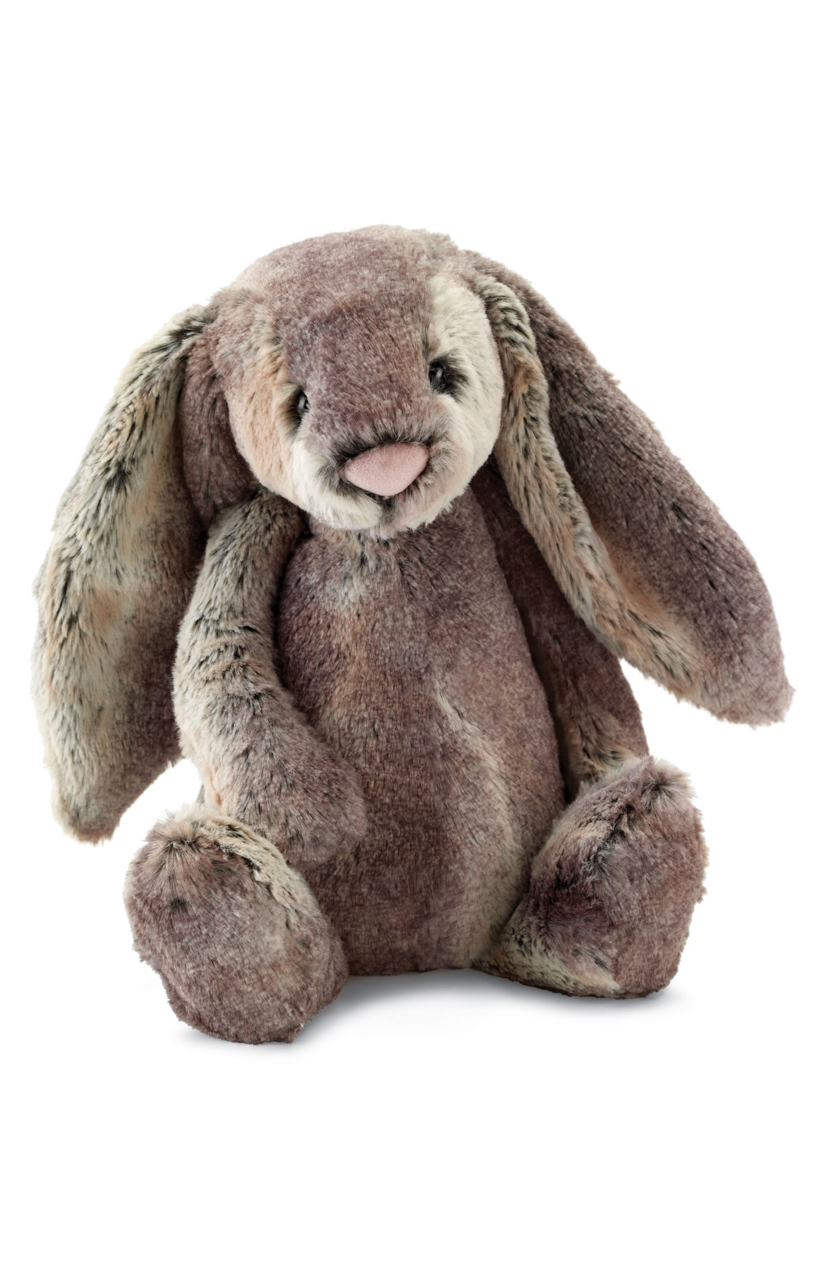 Woodland Babe Bunny Stuffed Animal,                         Main,                         color, Grey
