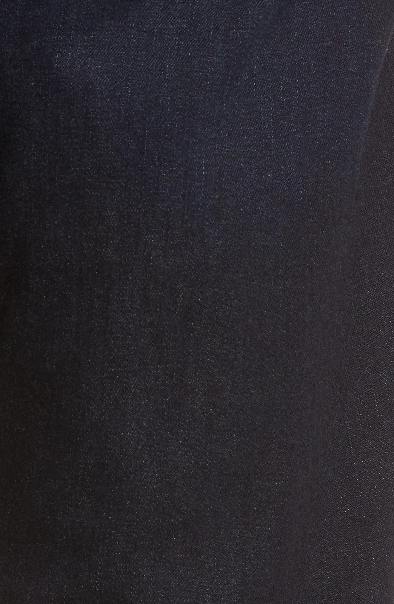 Russell Slim Straight Leg Jeans,                             Alternate thumbnail 5, color,                             Forte
