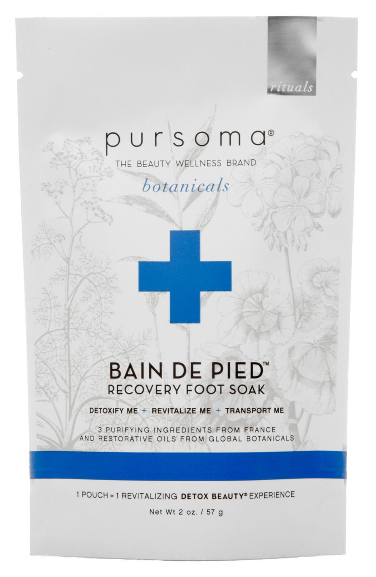 Bain de Pied Foot Soak,                             Main thumbnail 1, color,                             No Color