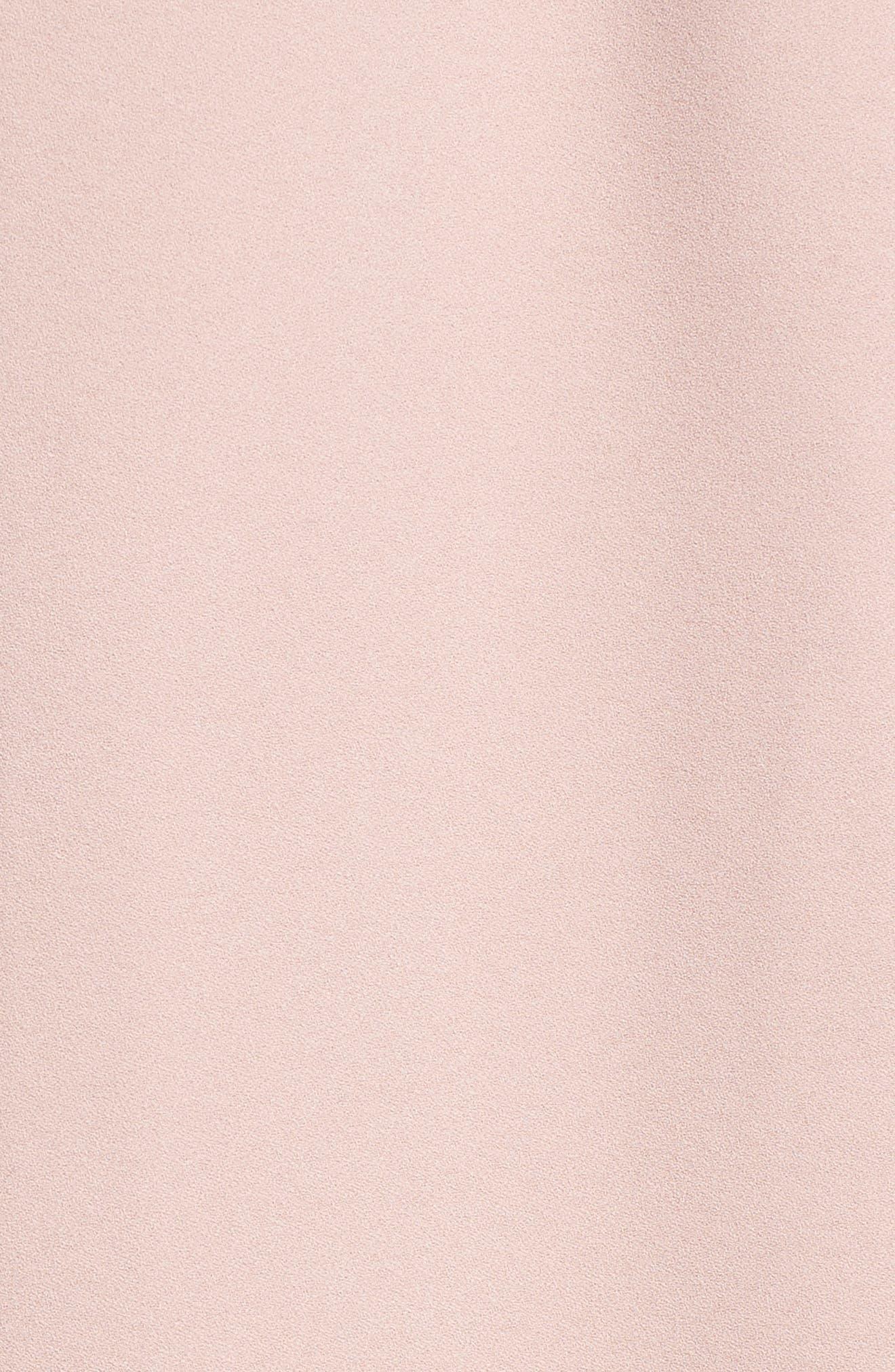 Tuxedo Vest,                             Alternate thumbnail 5, color,                             Pink Adobe