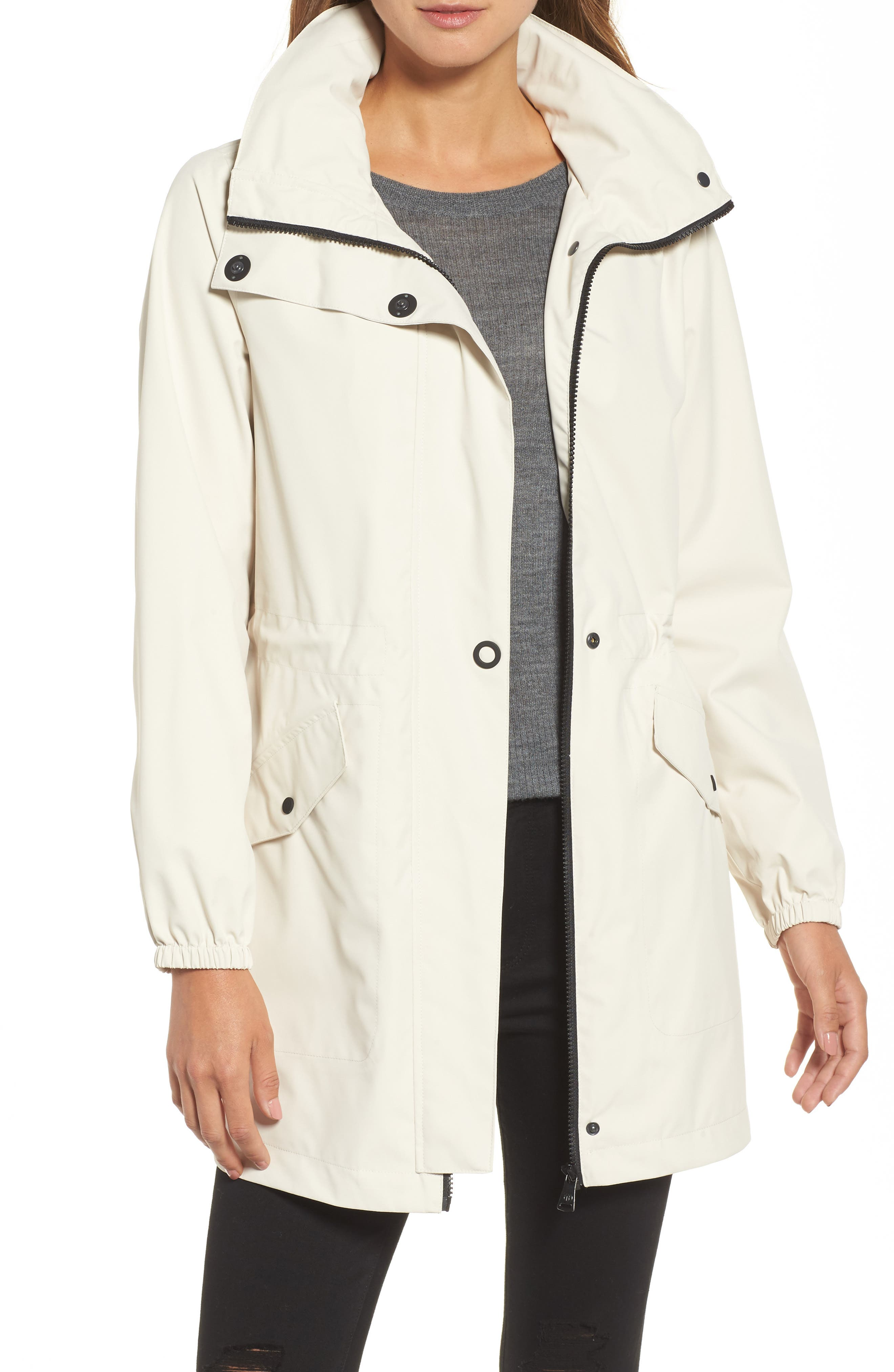 Micro Breathable Anorak Jacket,                             Main thumbnail 1, color,                             Beige