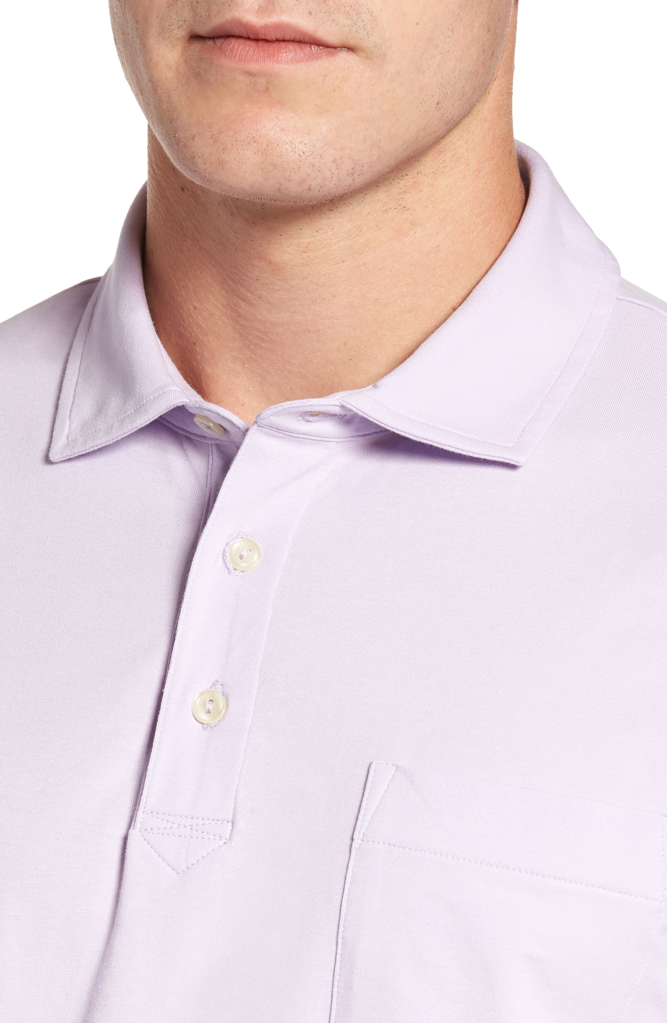 Alternate Image 4  - Peter Millar Mountainside Long-Sleeve Pocket Polo