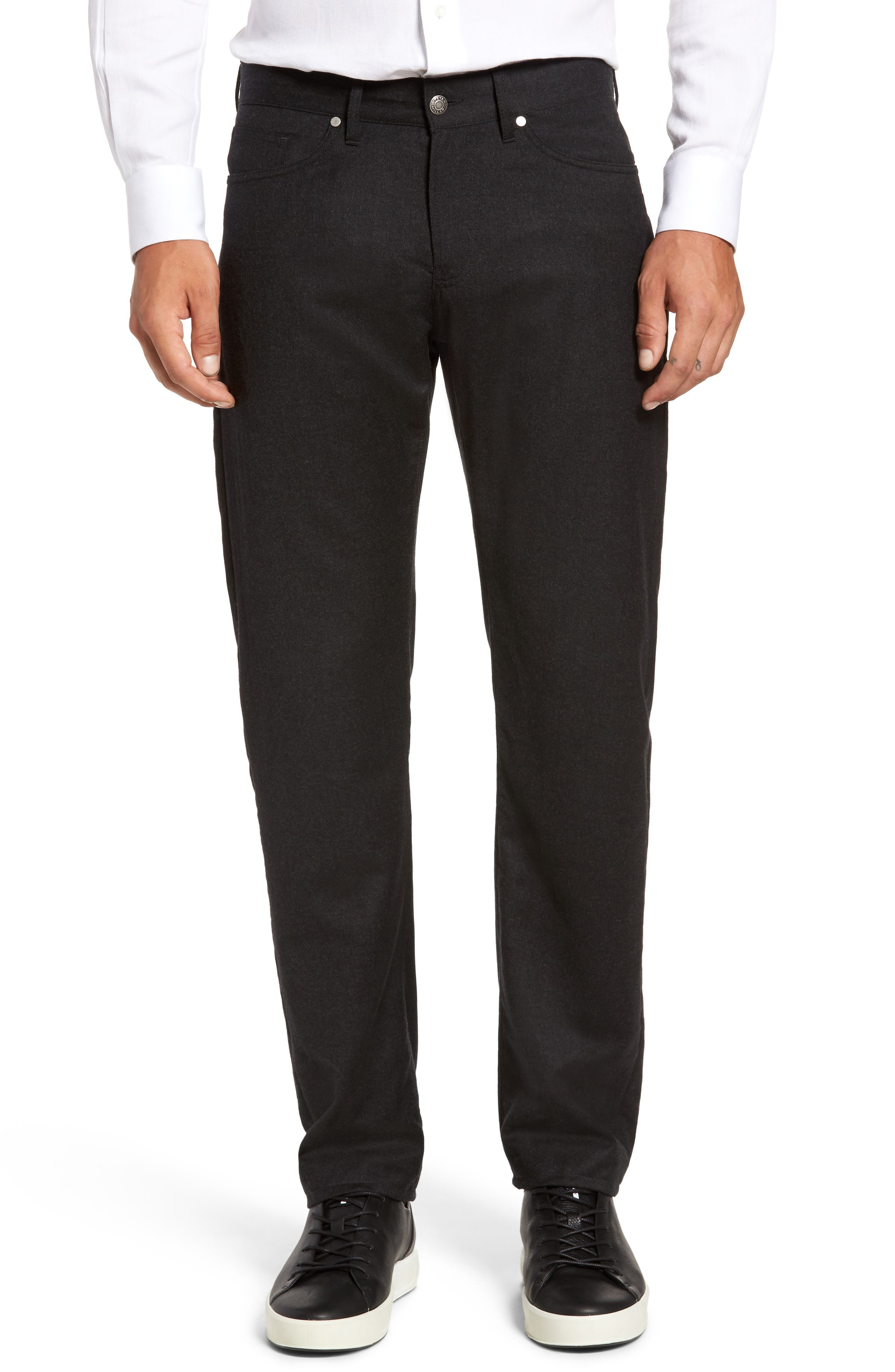 Peter Millar Wintertime Flannel Five-Pocket Pants (Regular & Big)