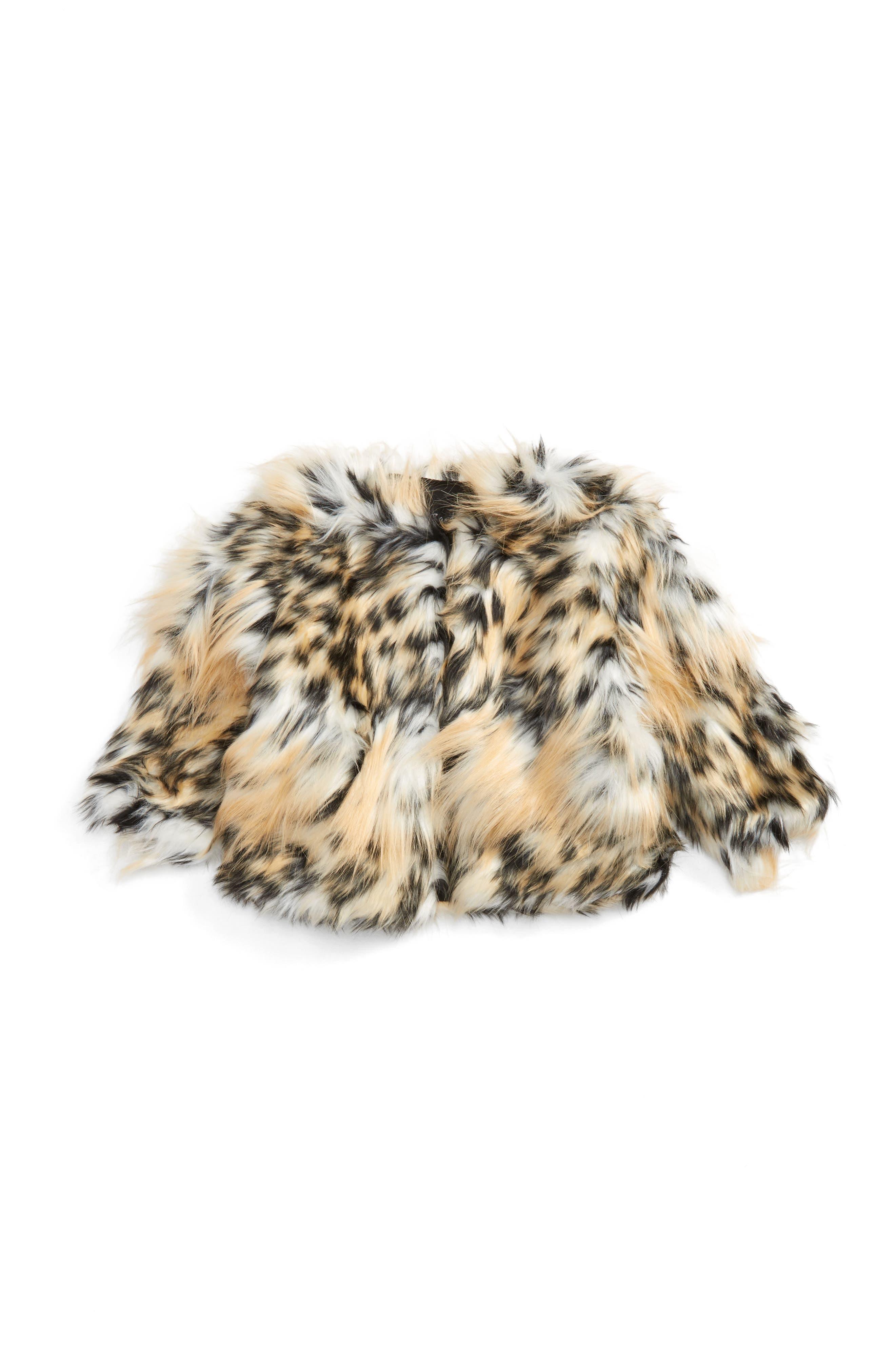 Bardot Junior Faux Fur Jacket (Baby Girls & Toddler Girls)