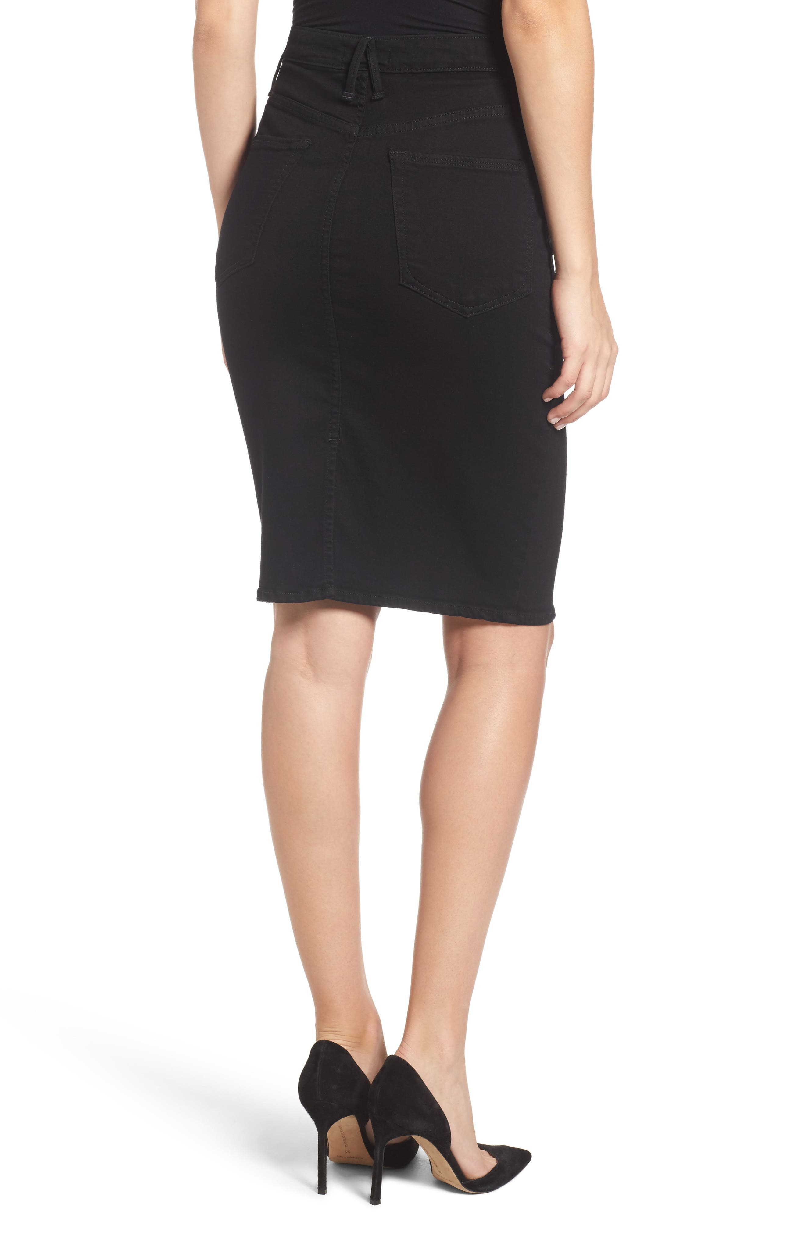 Alternate Image 3  - Good American The Pencil Skirt (Extended Sizes)