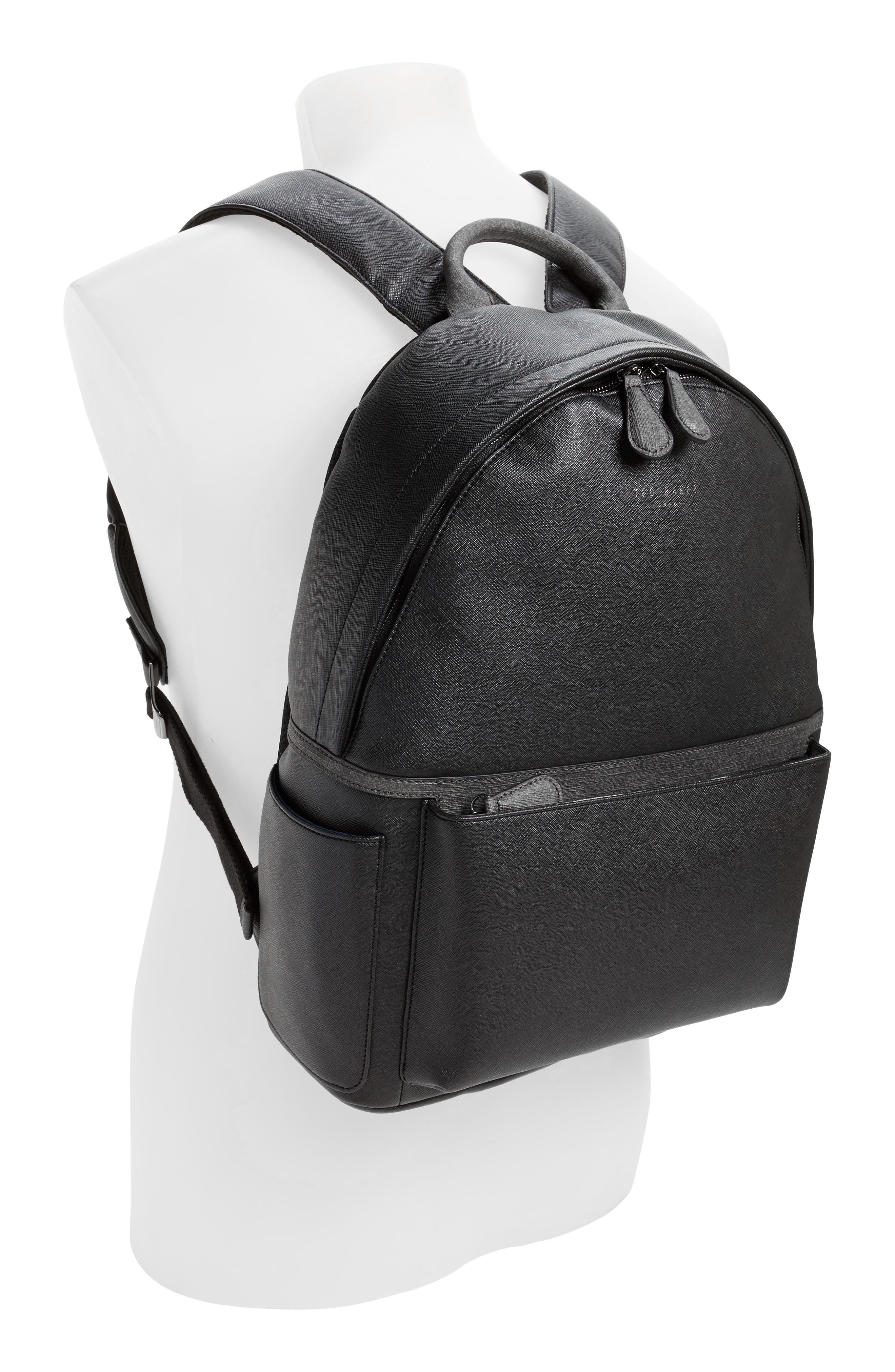 Fangs Backpack,                             Alternate thumbnail 2, color,                             Black