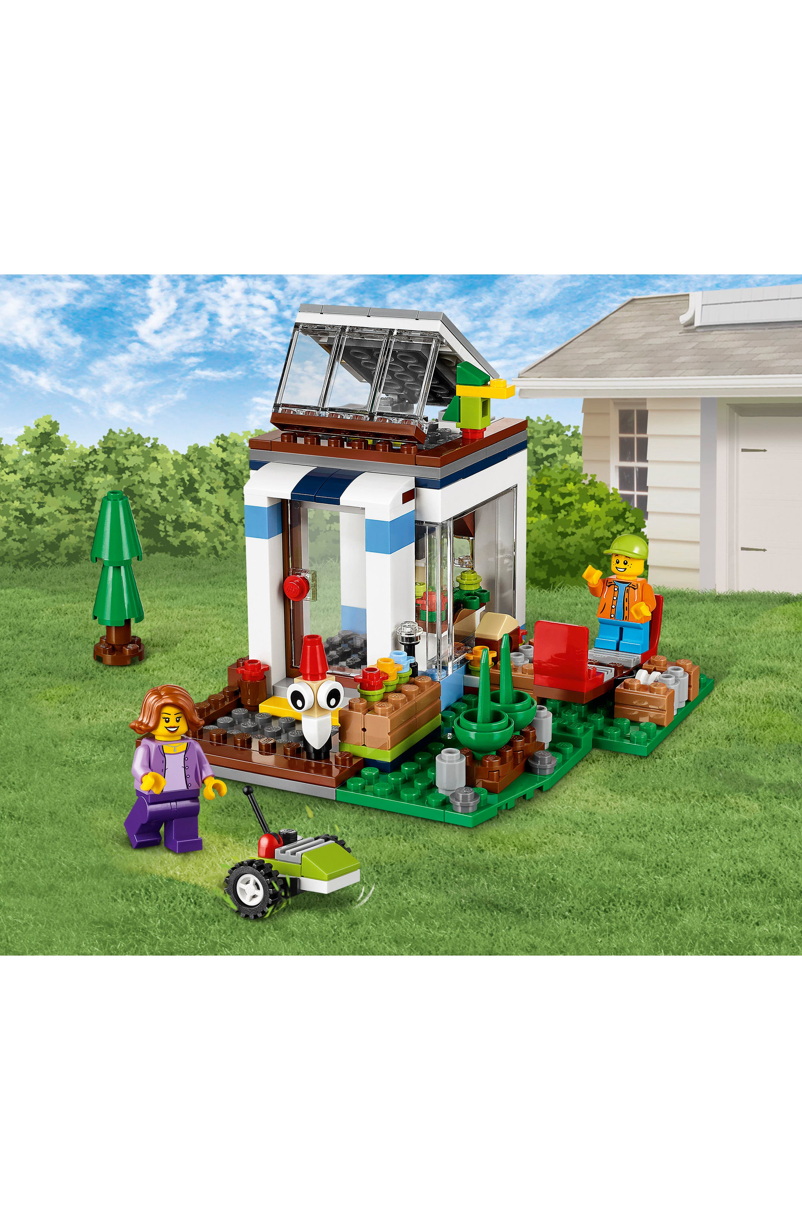 Creator 3-in-1 Modular Modern Home Play Set - 31068,                             Alternate thumbnail 2, color,                             Multi