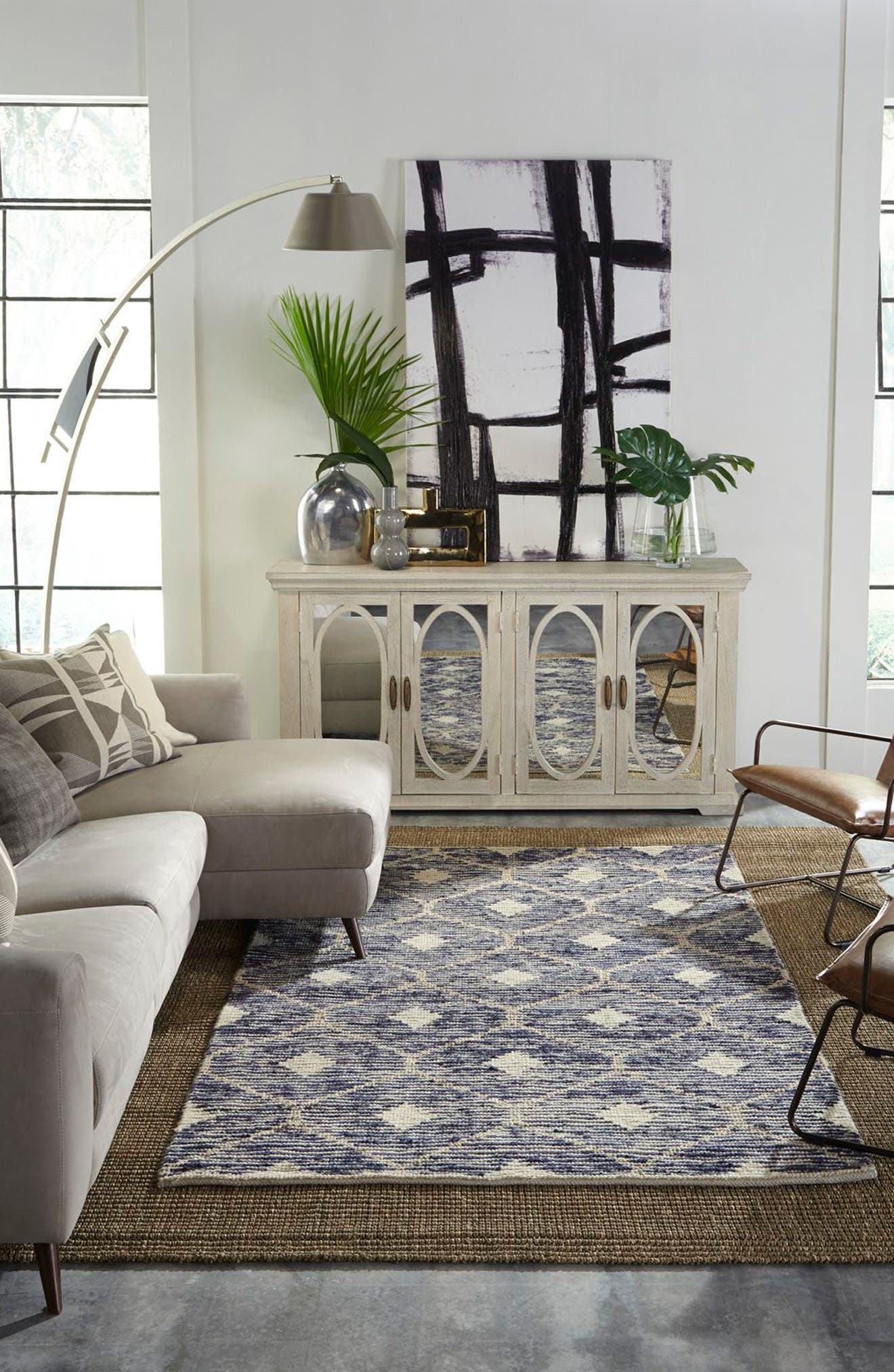Alternate Image 5  - Villa Home Collection Rustica Handwoven Rug