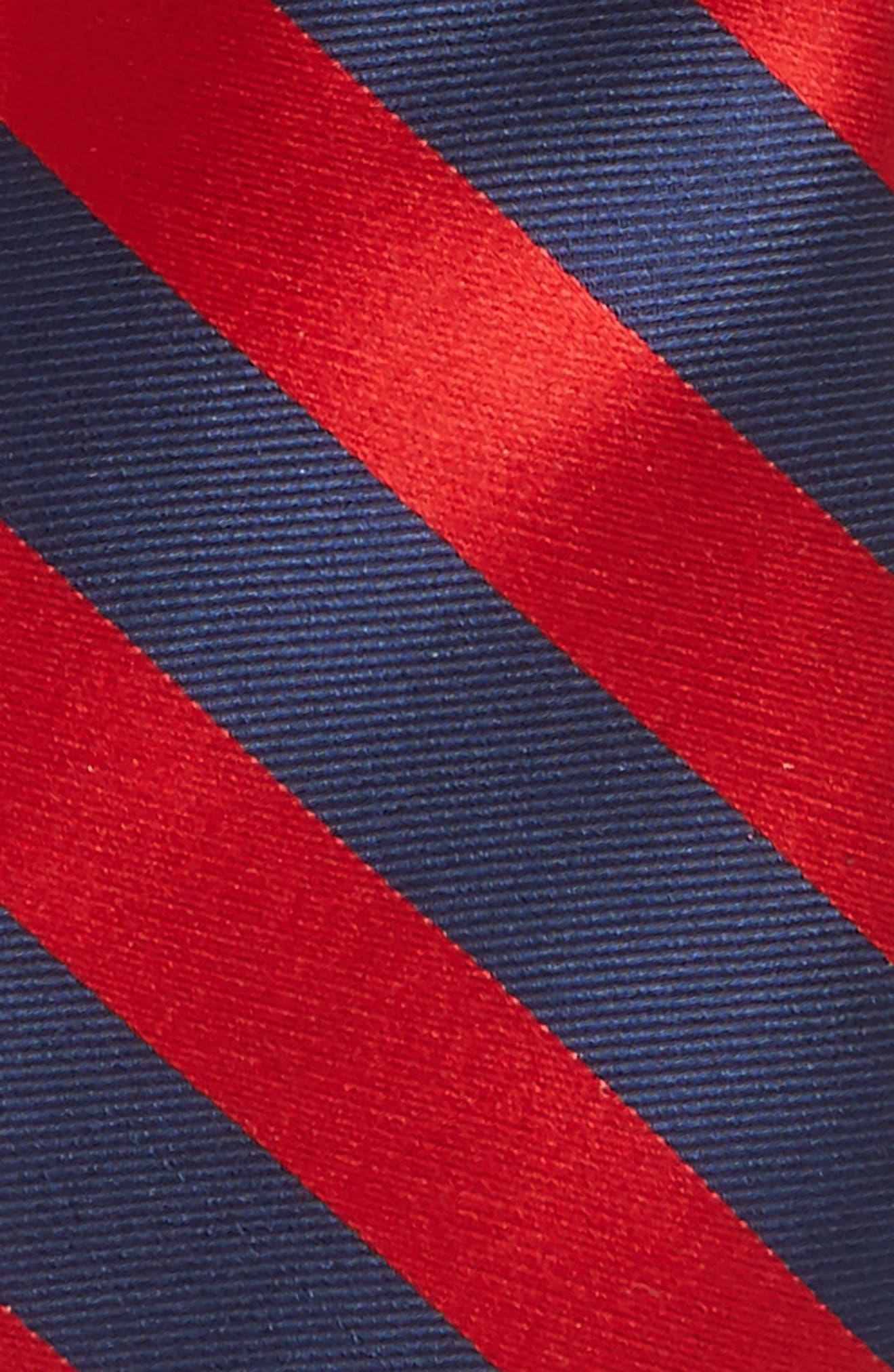 Alternate Image 2  - Nordstrom Stripe Silk Tie (Big Boys)