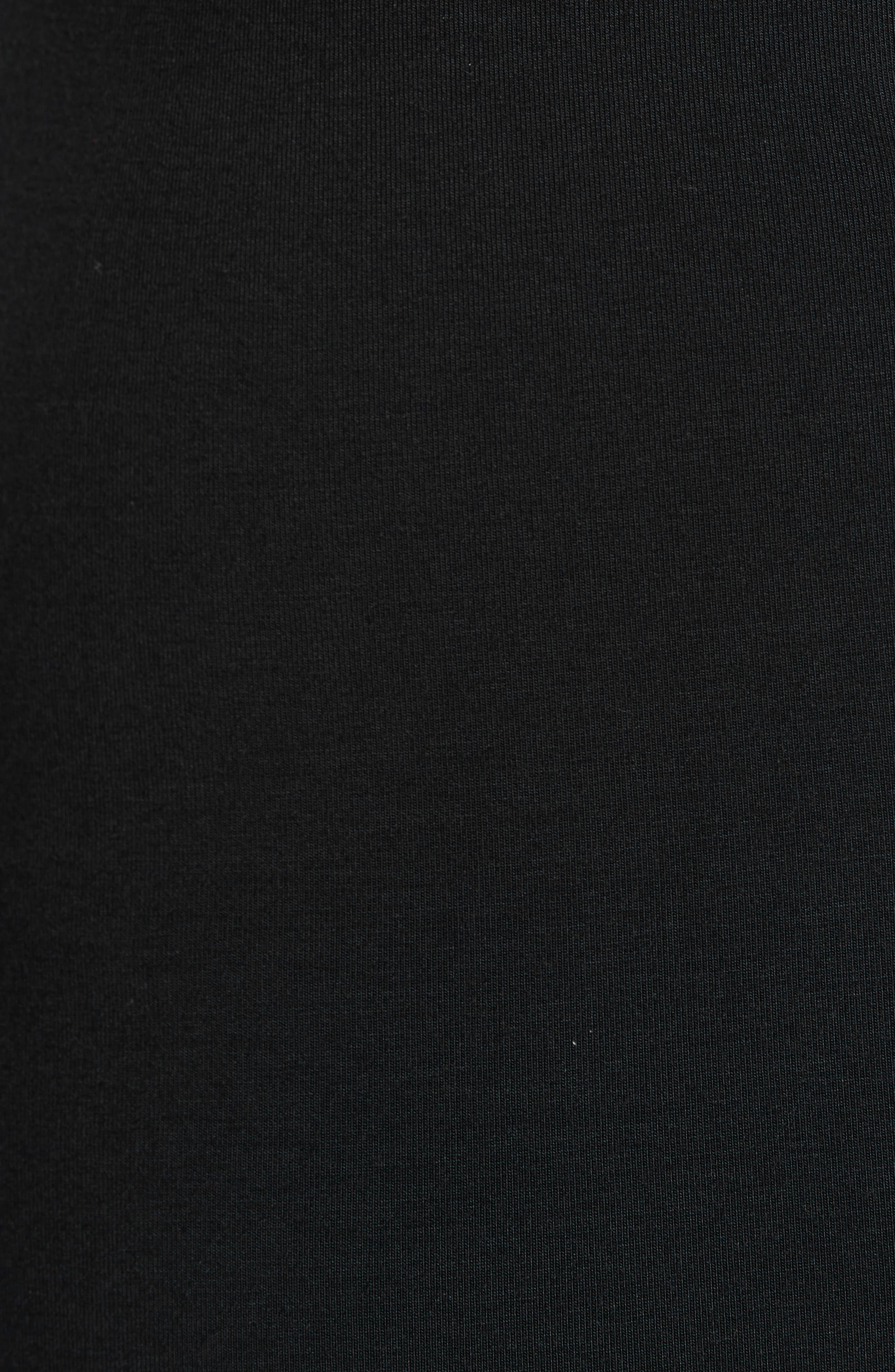 Alternate Image 5  - T by Alexander Wang Lace-Up Stretch Jersey Midi Dress