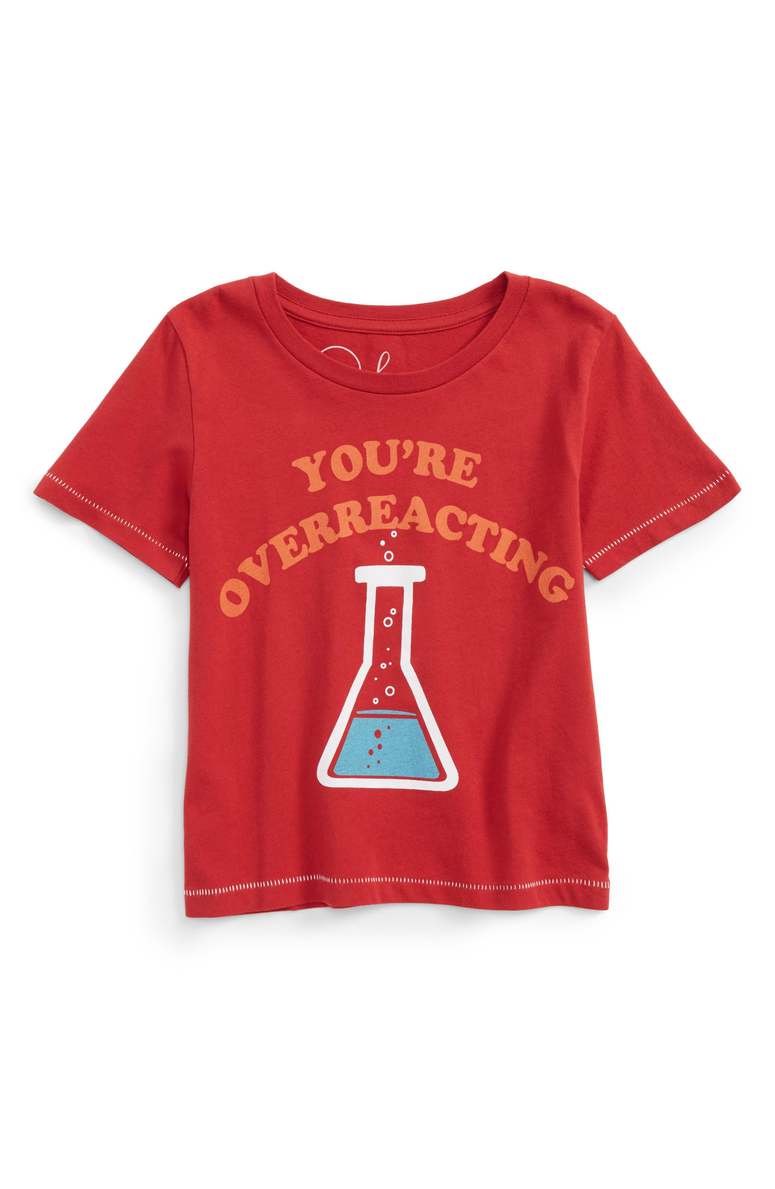 Peek Overreacting T-Shirt (Toddler Boys, Little Boys & Big Boys)
