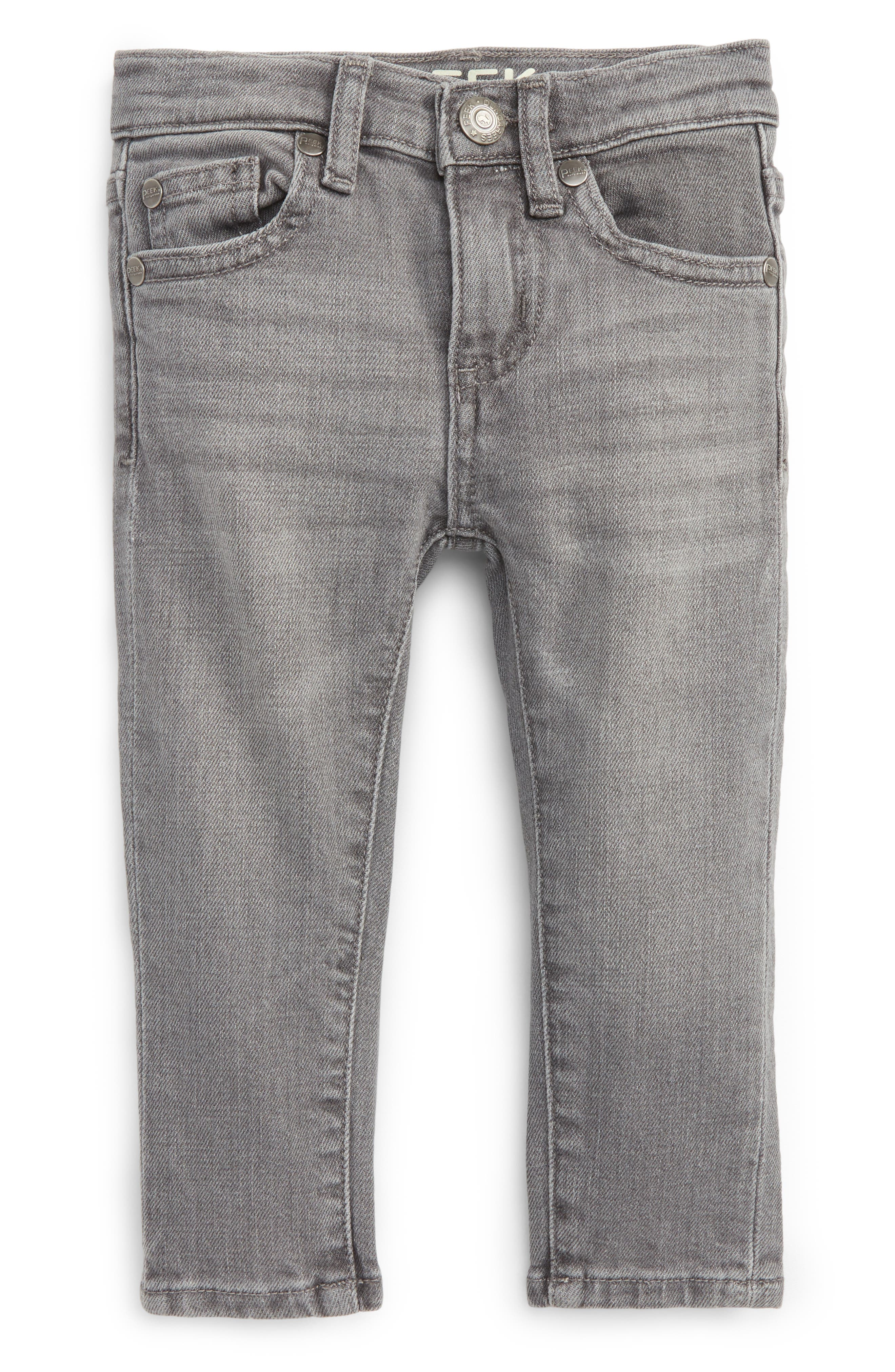 Alternate Image 1 Selected - Peek Slouch Jeans (Baby Boys)