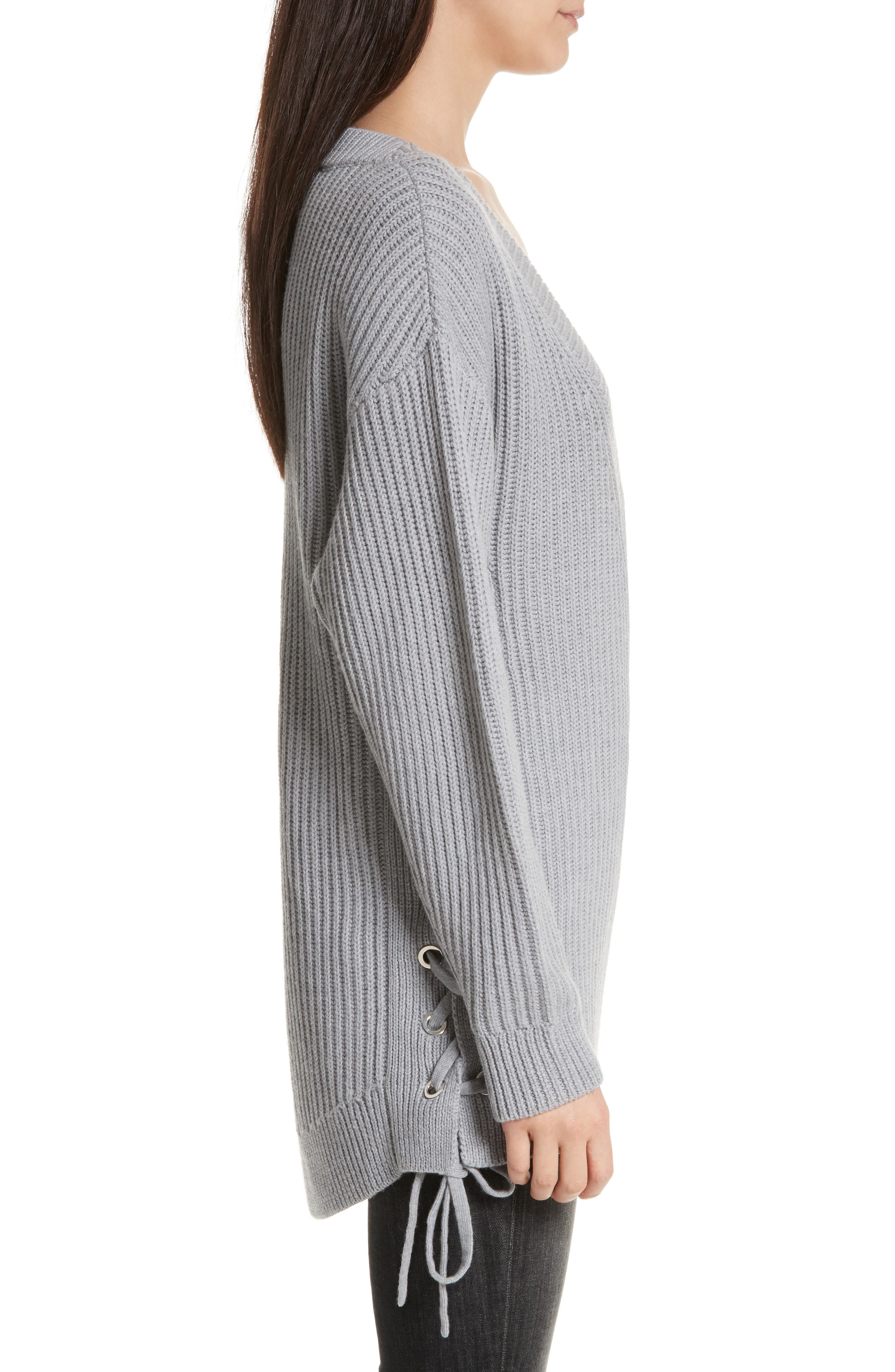 Alternate Image 3  - rag & bone/JEAN Ivy Side Tie Sweater