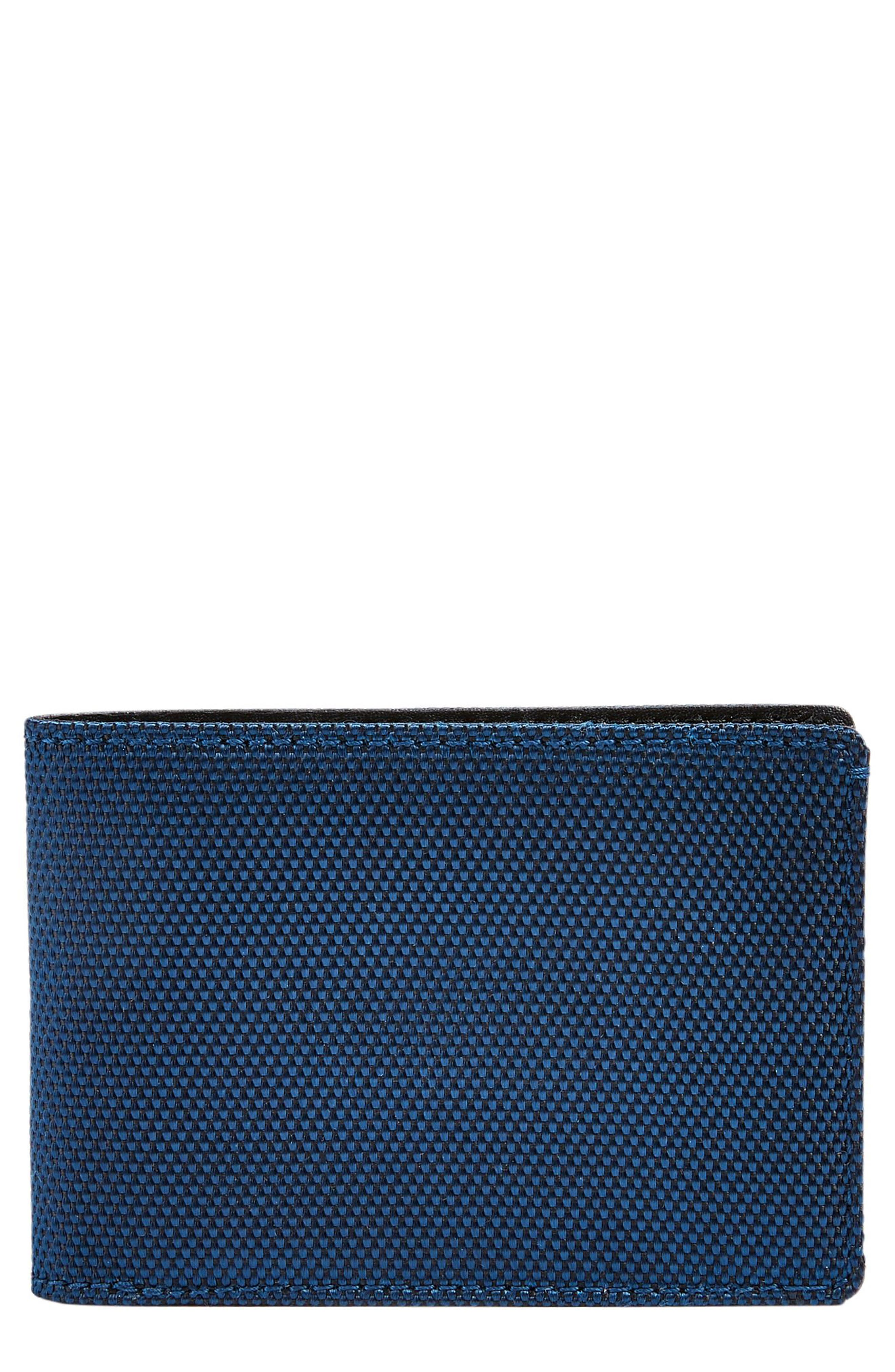 Slim Bifold Wallet,                         Main,                         color, Ink