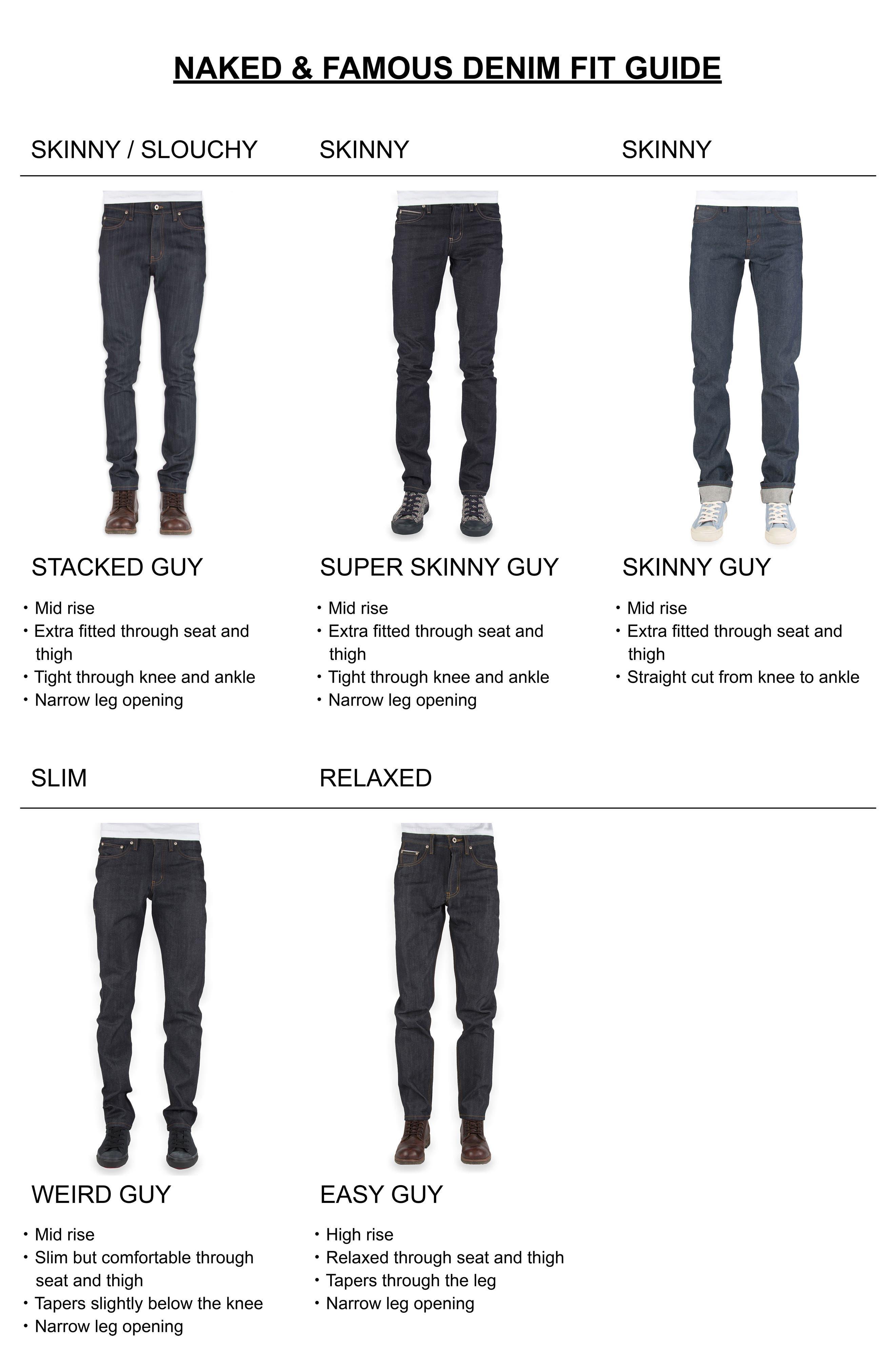 Alternate Image 7  - Naked & Famous Denim Weird Guy Slim Fit Jeans (Elephant 6)