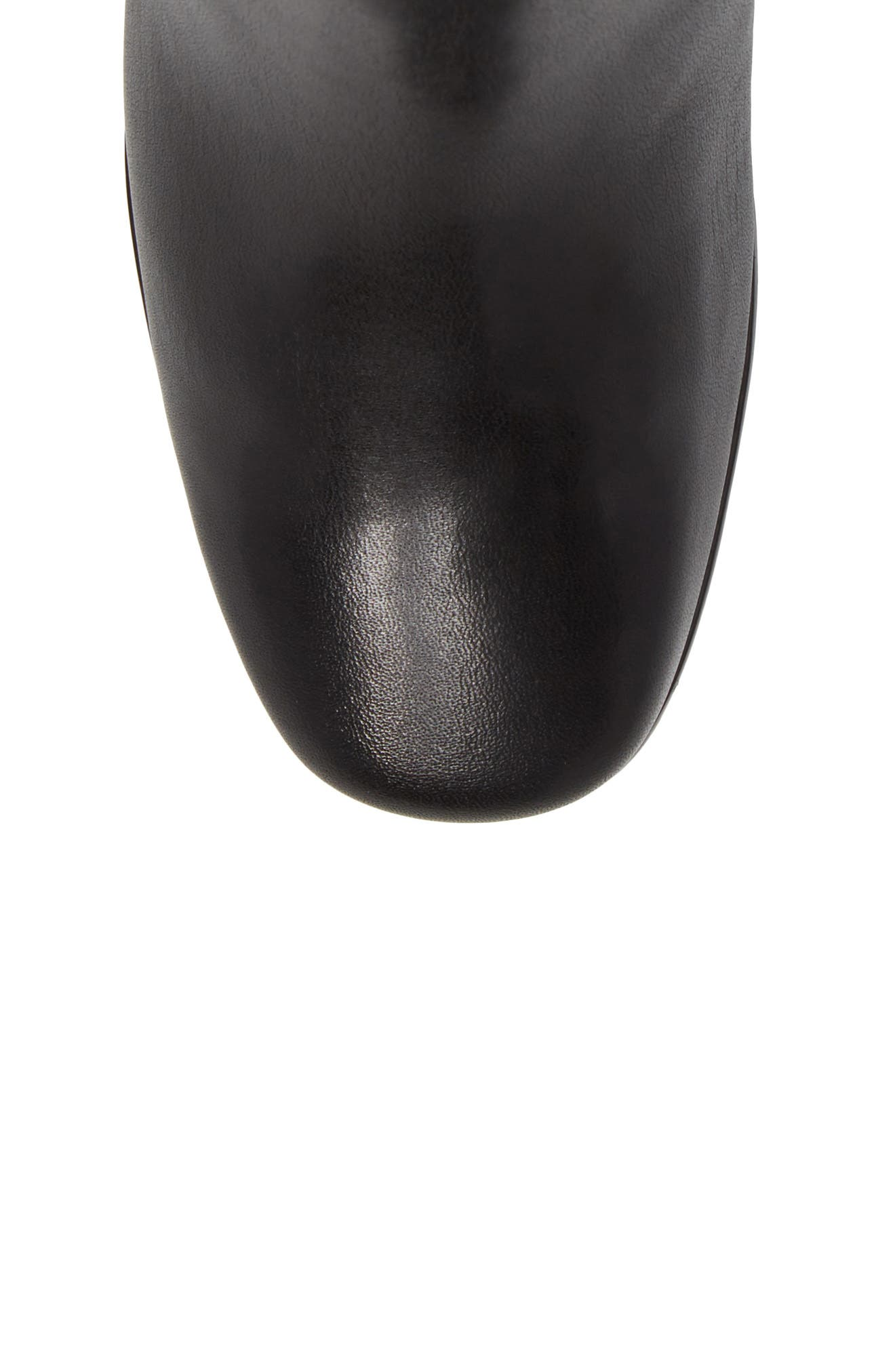 Kensett Diana Bootie,                             Alternate thumbnail 5, color,                             Black Leather