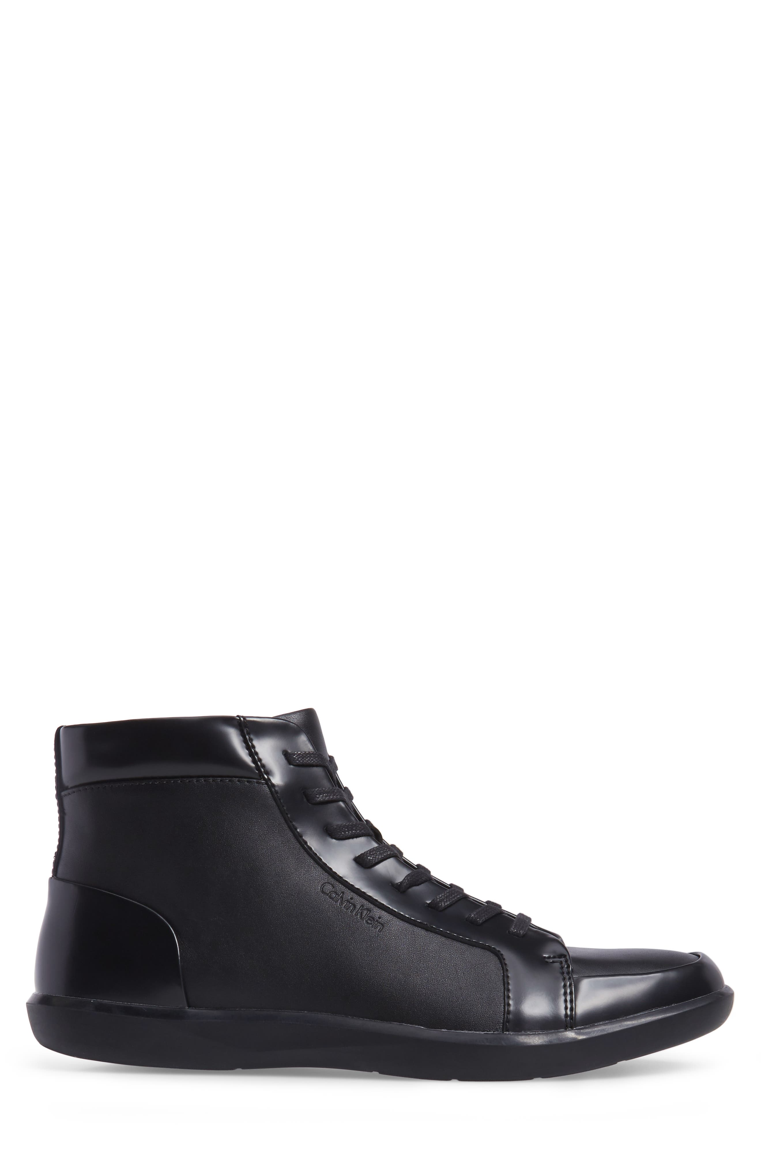 Malvern Sneaker,                             Alternate thumbnail 3, color,                             Black