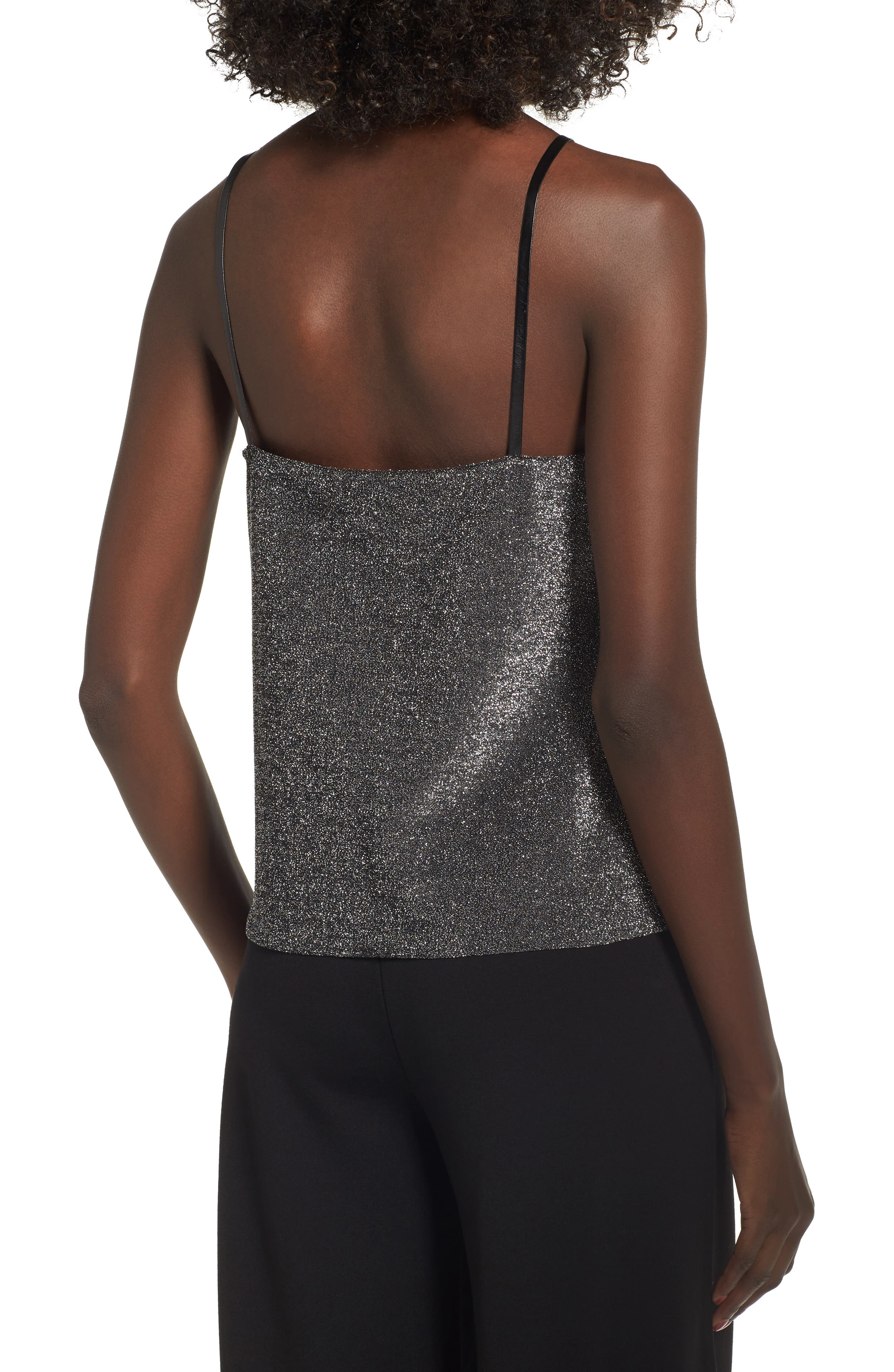 Alternate Image 2  - Leith Shimmer Camisole