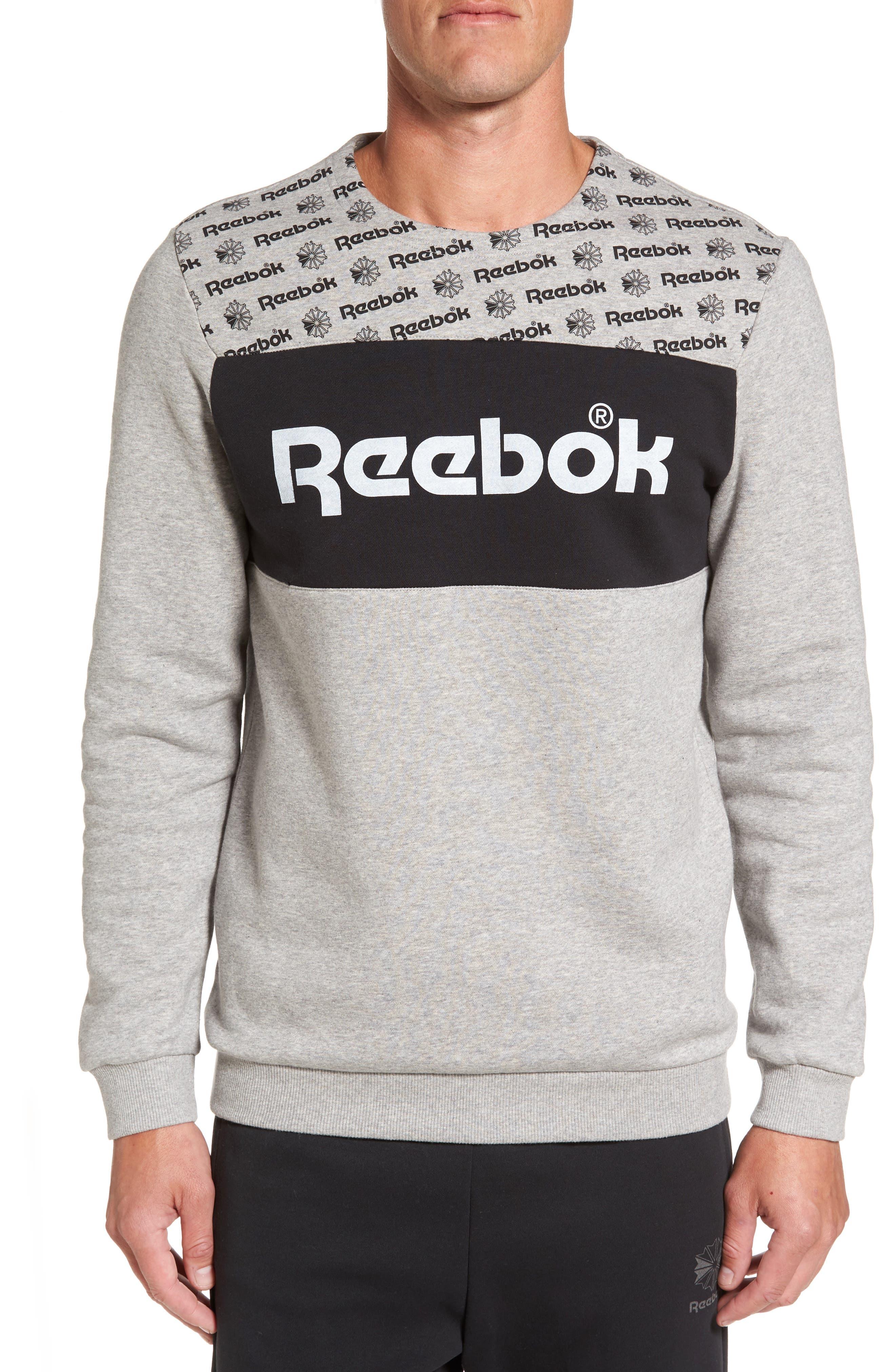 REEBOK Graphic Crewneck Sweatshirt