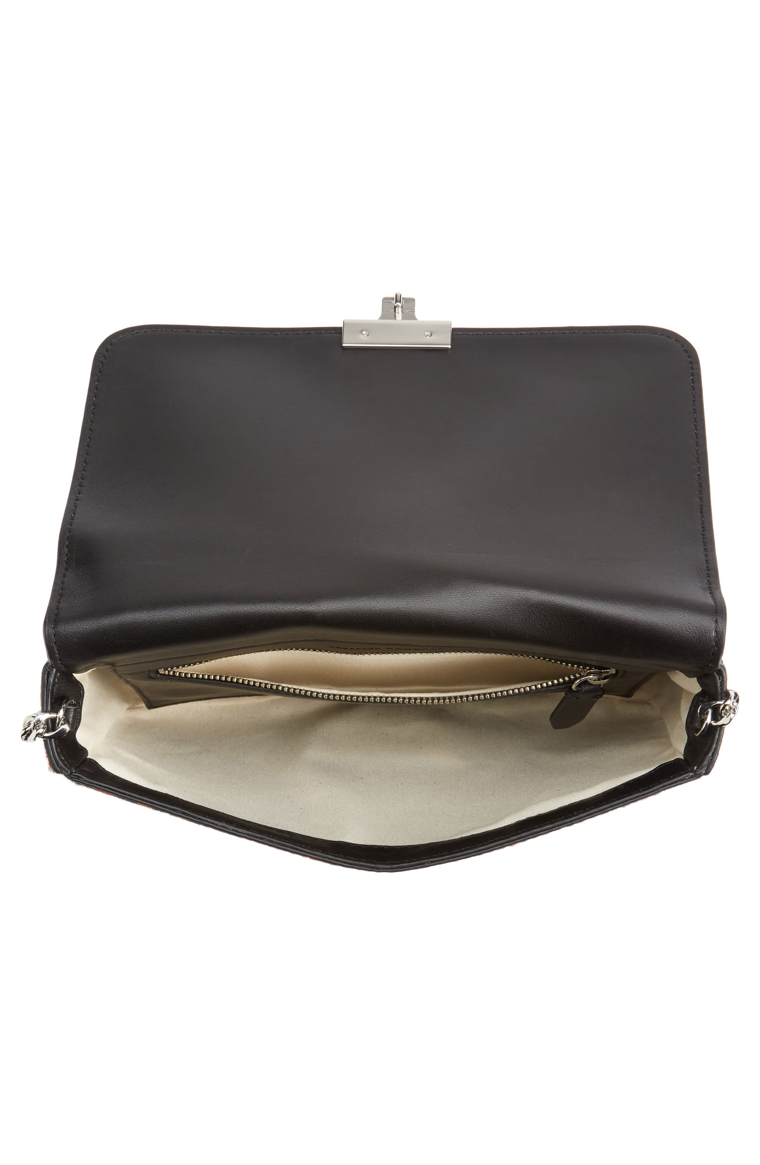 Alternate Image 4  - Loeffler Randall Lock Genuine Calf Hair Shoulder Bag