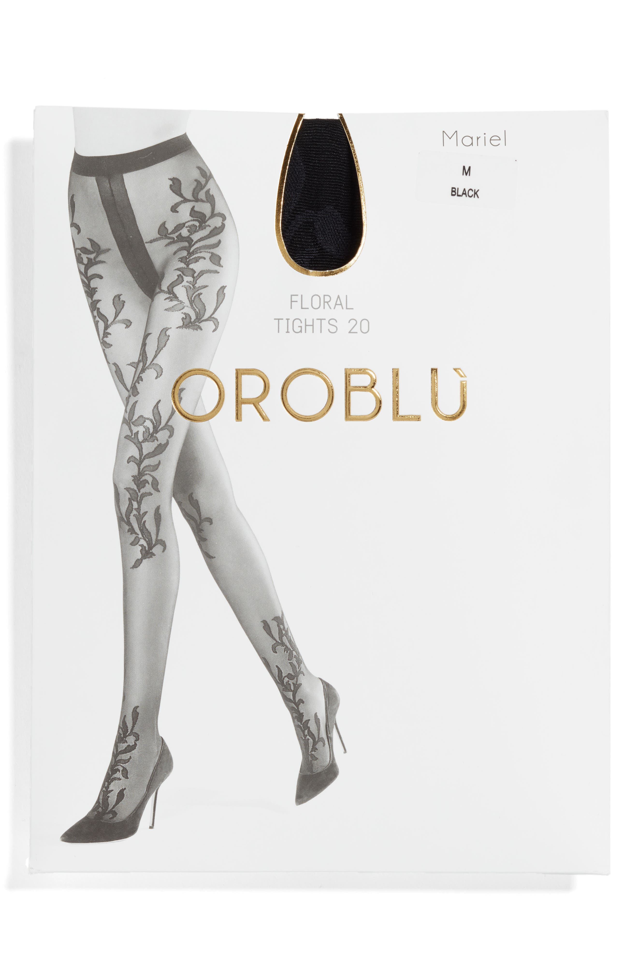 Alternate Image 2  - Oroblu Mariel Tights