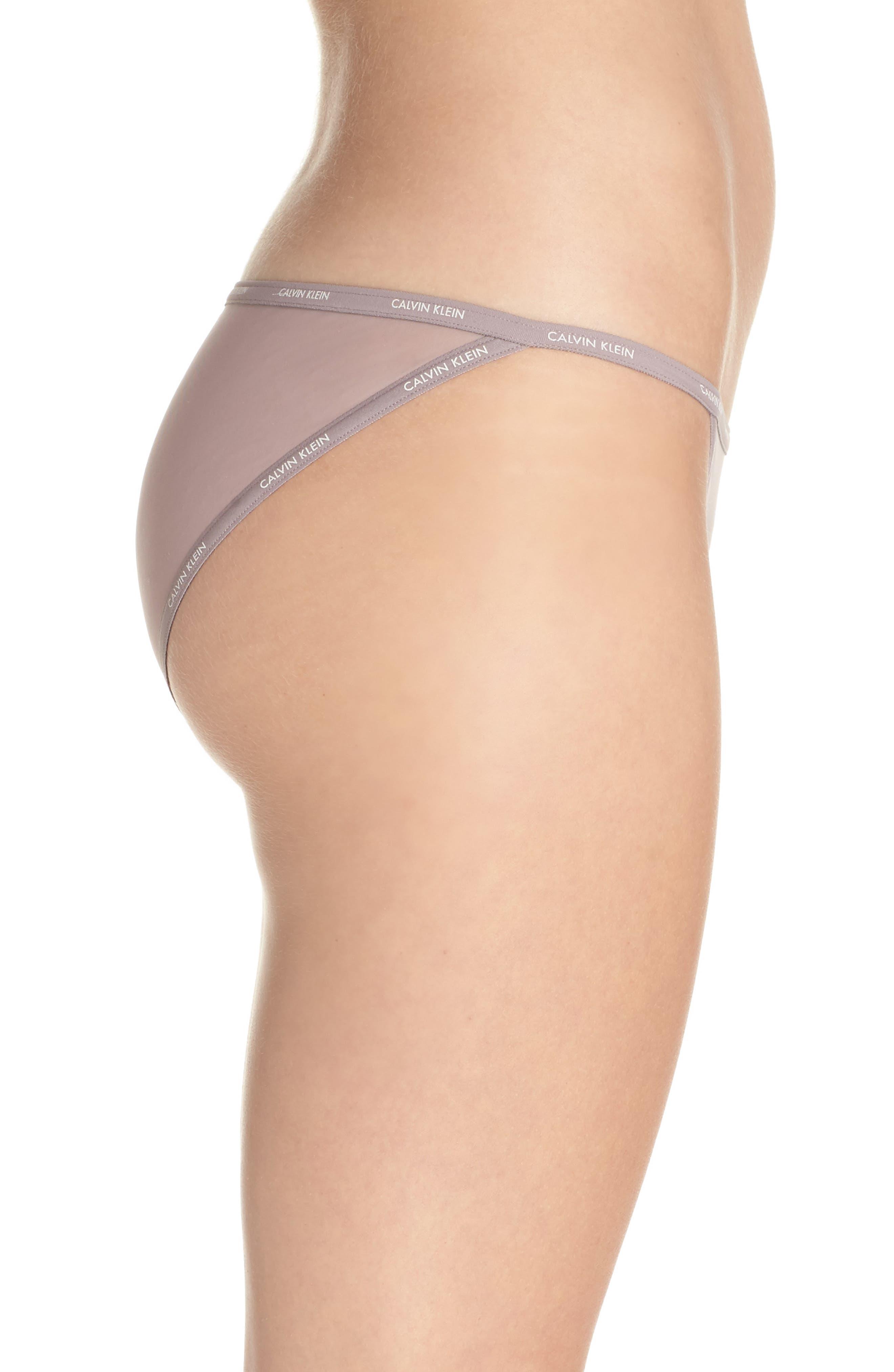 Alternate Image 3  - Calvin Klein Marquisette String Bikini