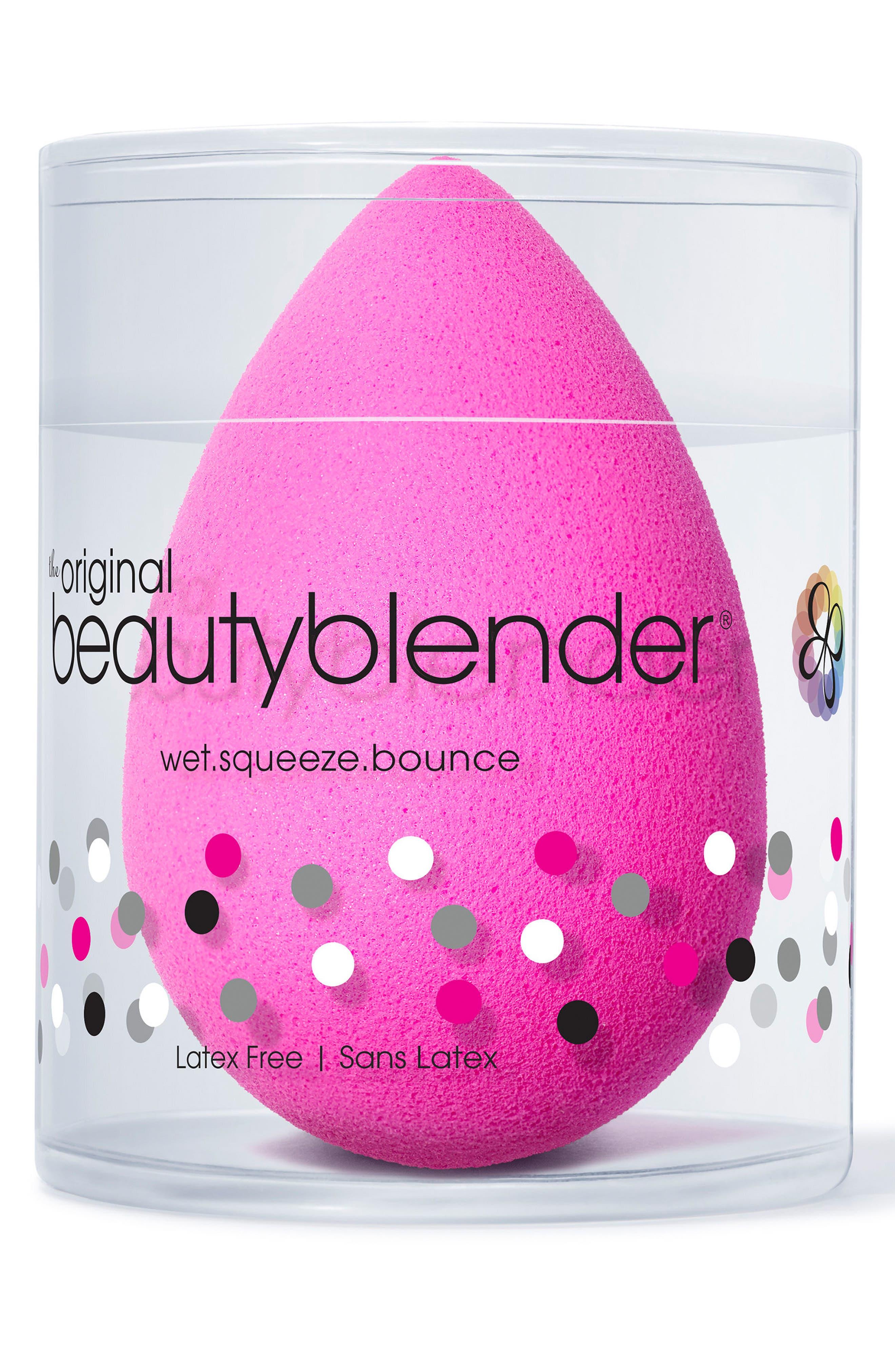 Alternate Image 2  - beautyblender® Mini Original Makeup Sponge Applicator
