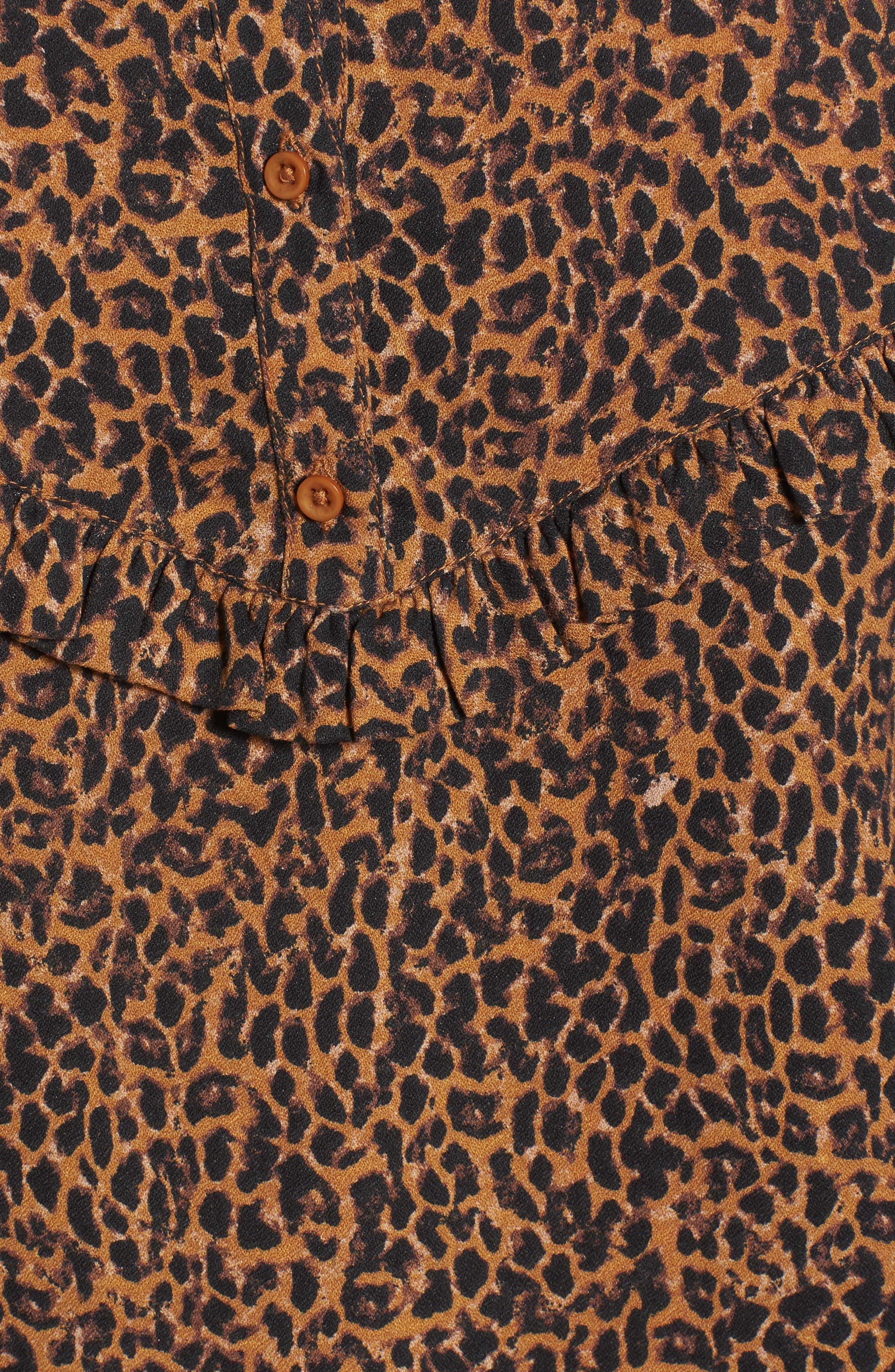 Ruffle Top,                             Alternate thumbnail 5, color,                             Tan Dale Animal