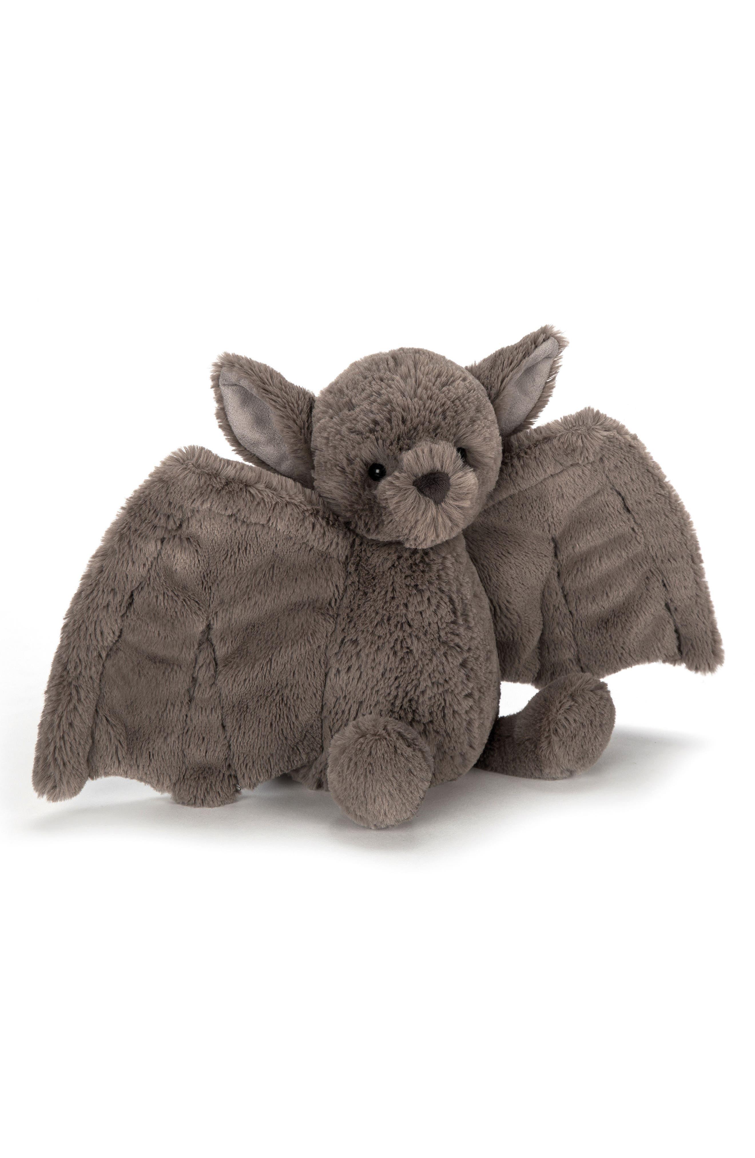 Jellycat Medium Bashful Bat Stuffed Animal