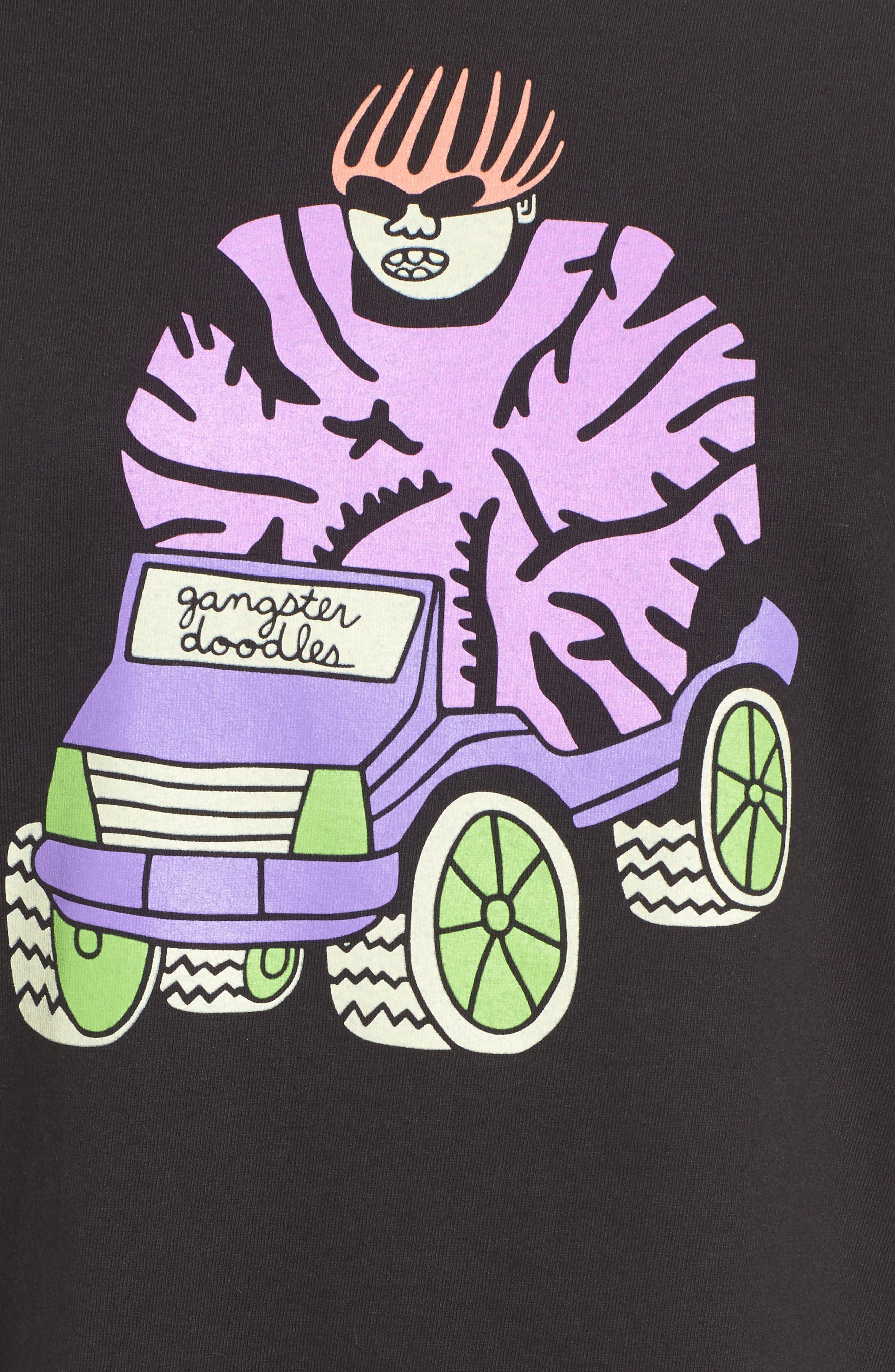 Alternate Image 6  - Gangster Doodles Missy Elliott T-Shirt