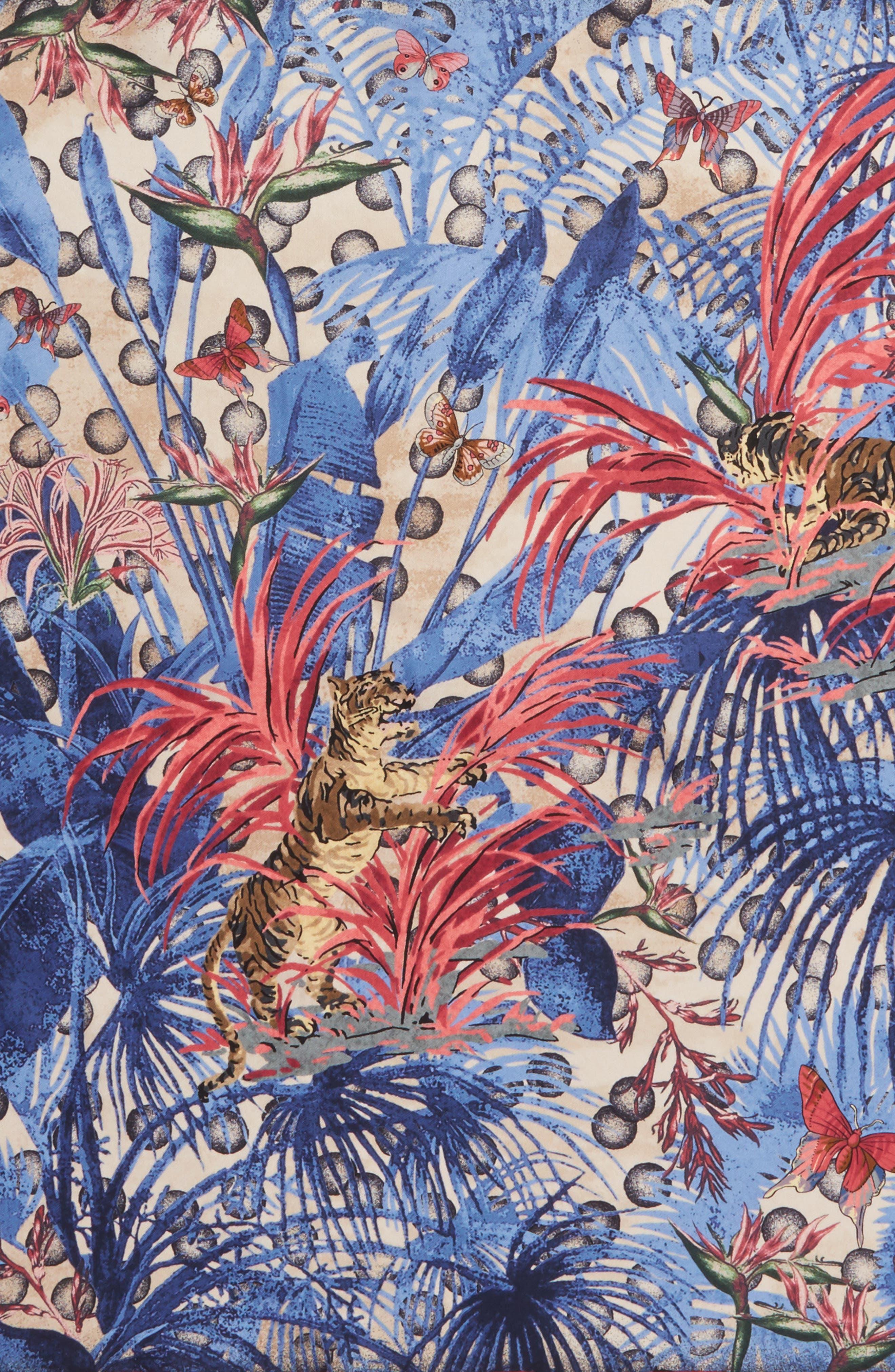 Alternate Image 4  - MANTERO Papiro Square Silk Scarf