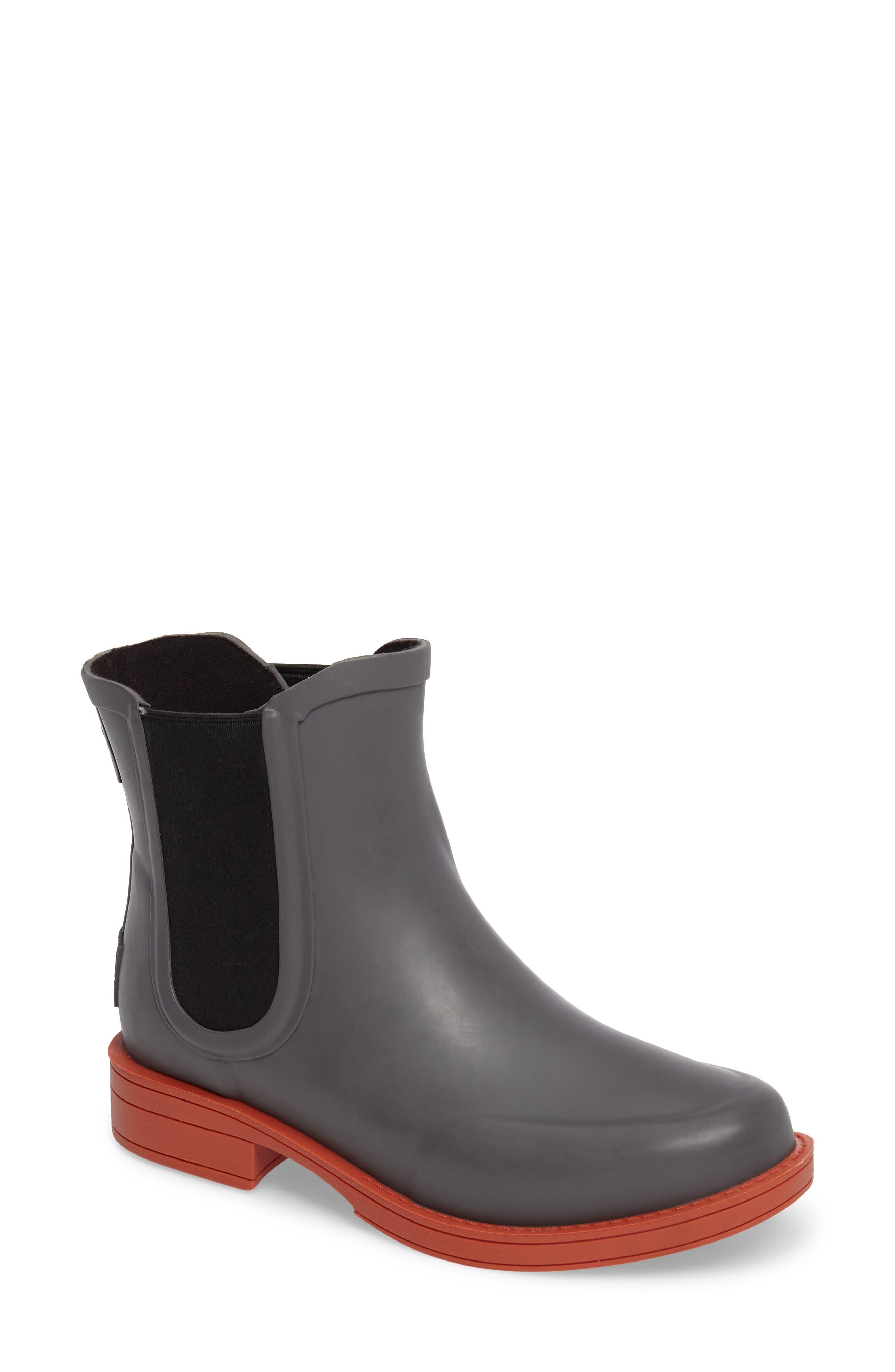 Alternate Image 1 Selected - UGG® Aviana Chelsea Rain Boot (Women)