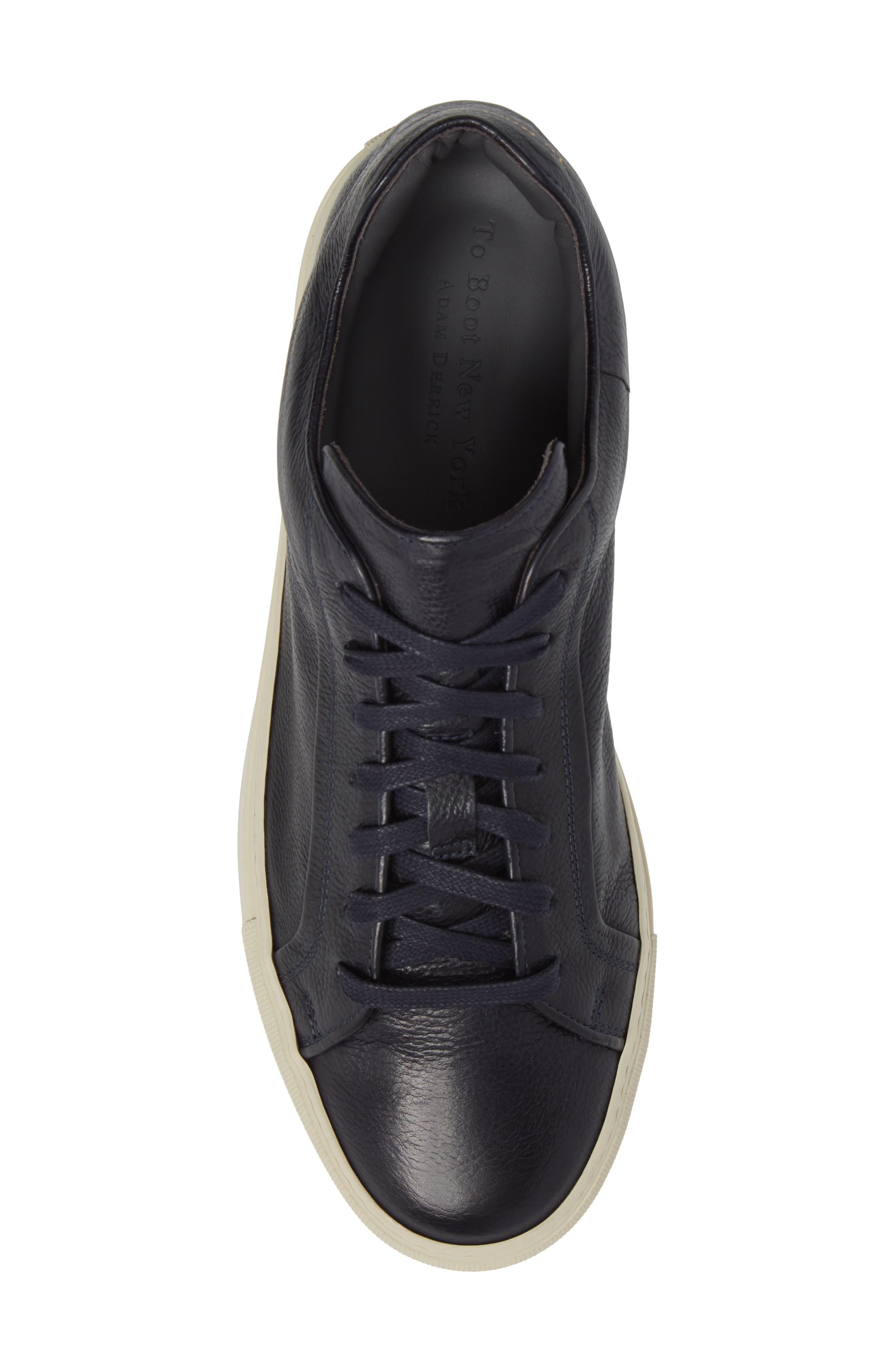 Thomas Sneaker,                             Alternate thumbnail 5, color,                             Blue Marine