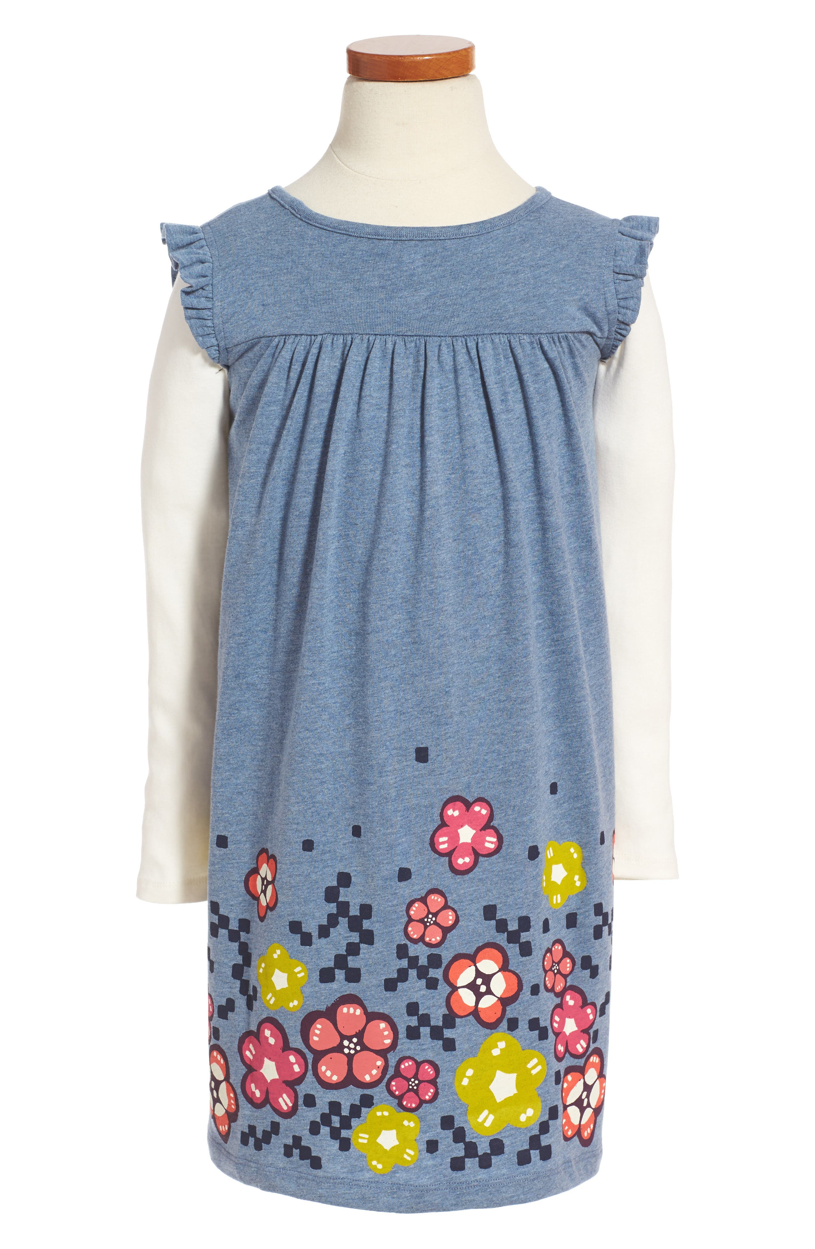 Alternate Image 1 Selected - Tea Collection Mackintosh Mighty Dress (Toddler Girls, Little Girls & Big Girls)