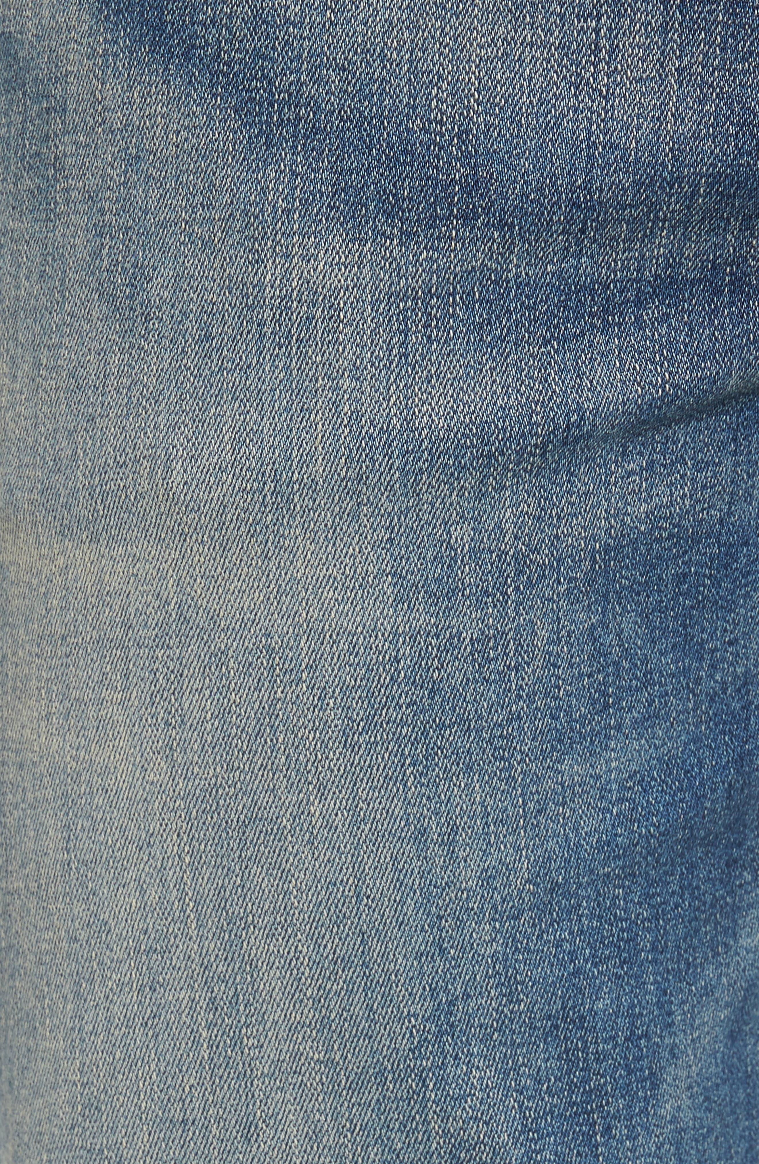 Core Slim Fit Jeans,                             Alternate thumbnail 5, color,                             Millais