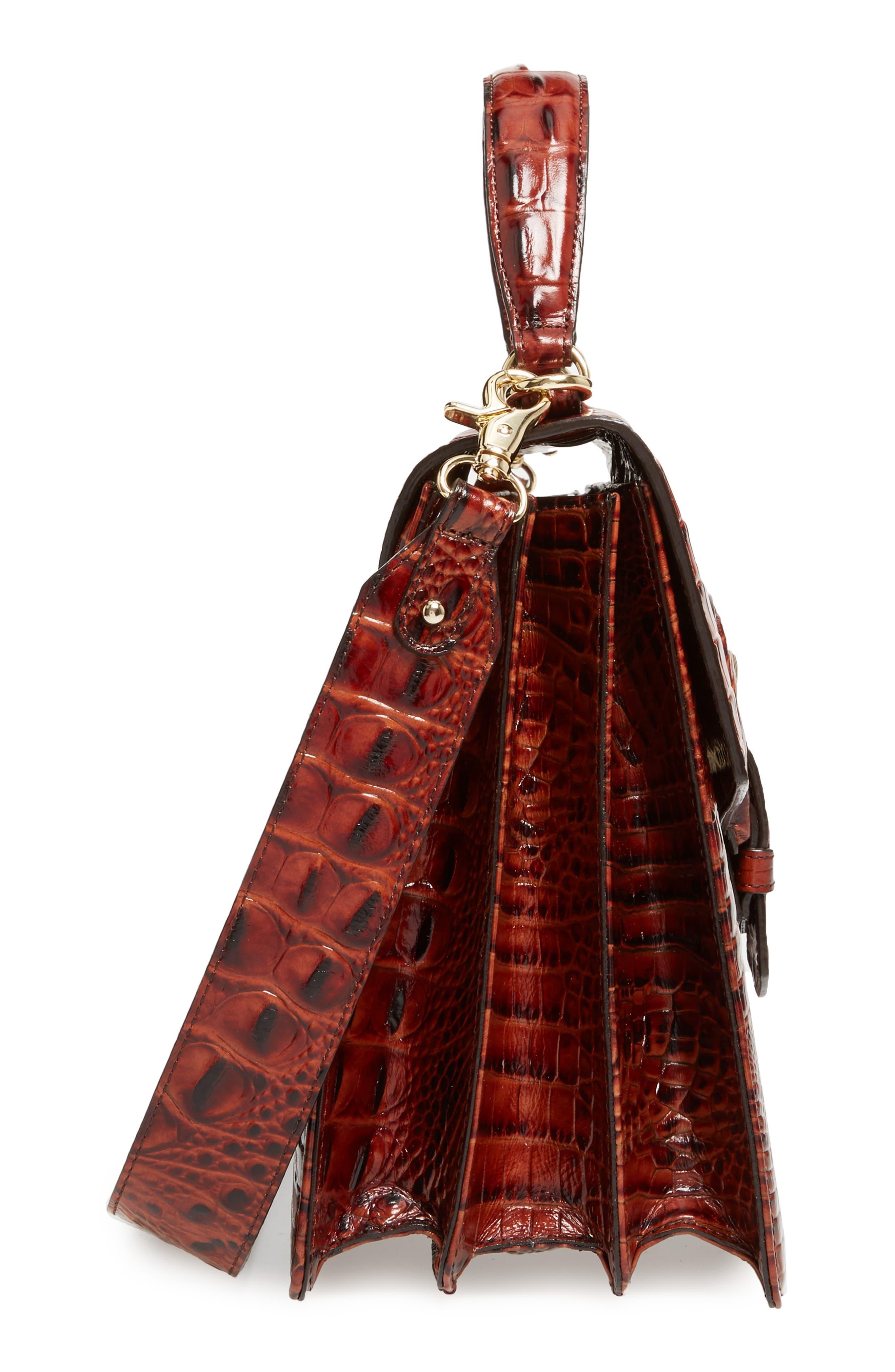 Alternate Image 5  - Brahmin Melbourne Gabriella Embossed Leather Satchel