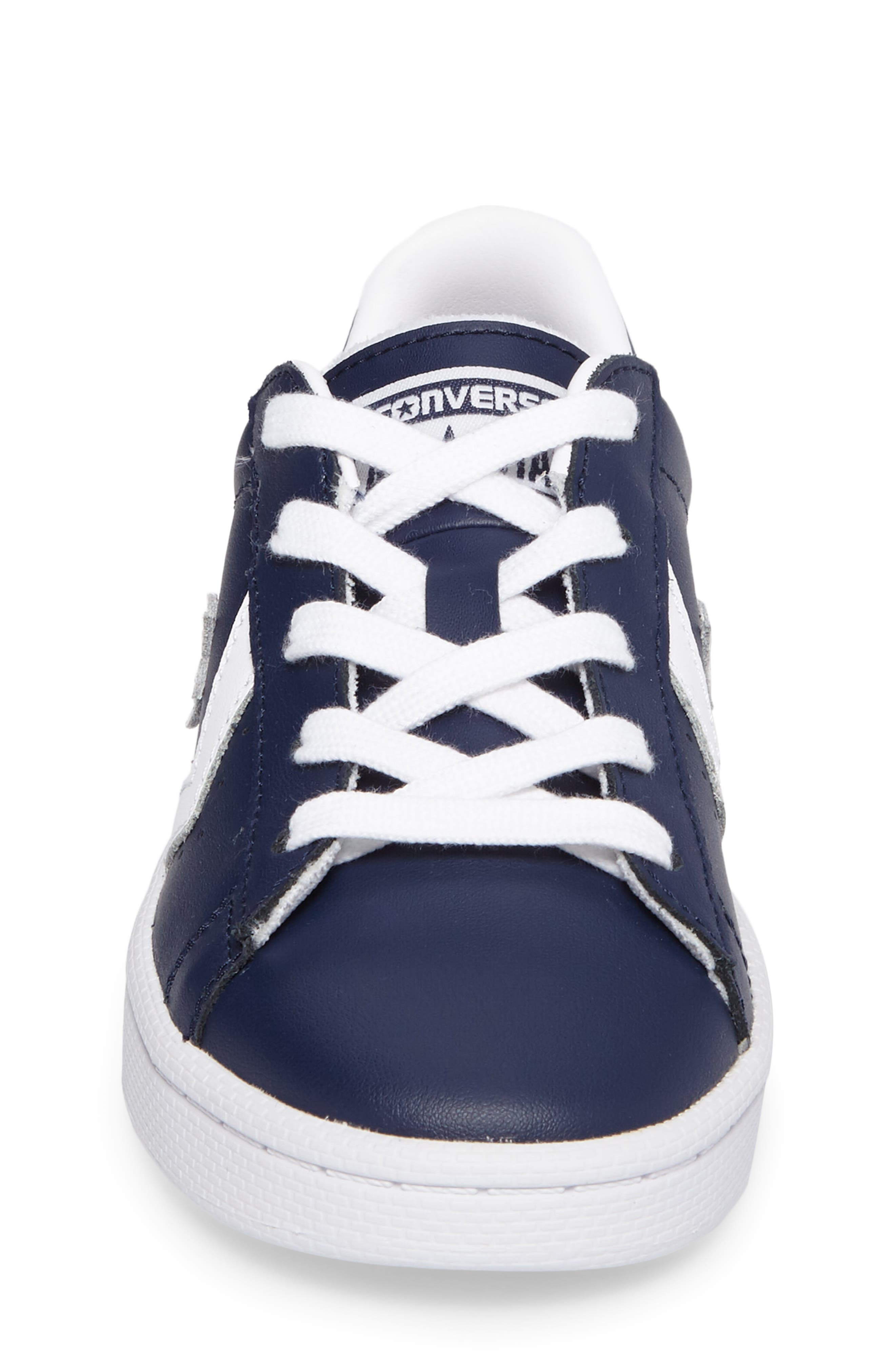 Alternate Image 5  - Converse All Star® Pro Leather Low Top Sneaker (Toddler & Little Kid)
