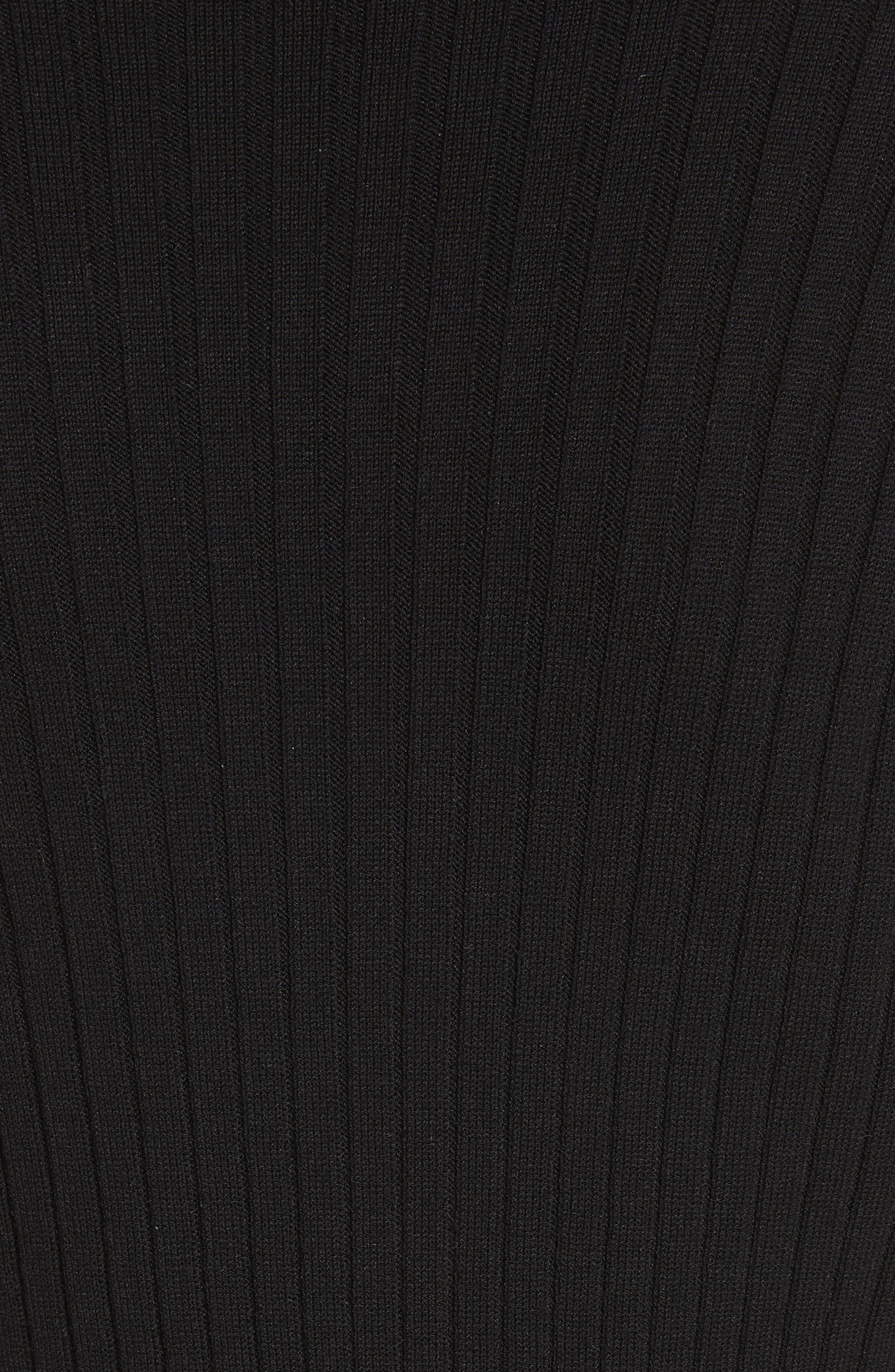 Alternate Image 5  - St. John Collection Flat Rib Knit Mock Neck Sweater