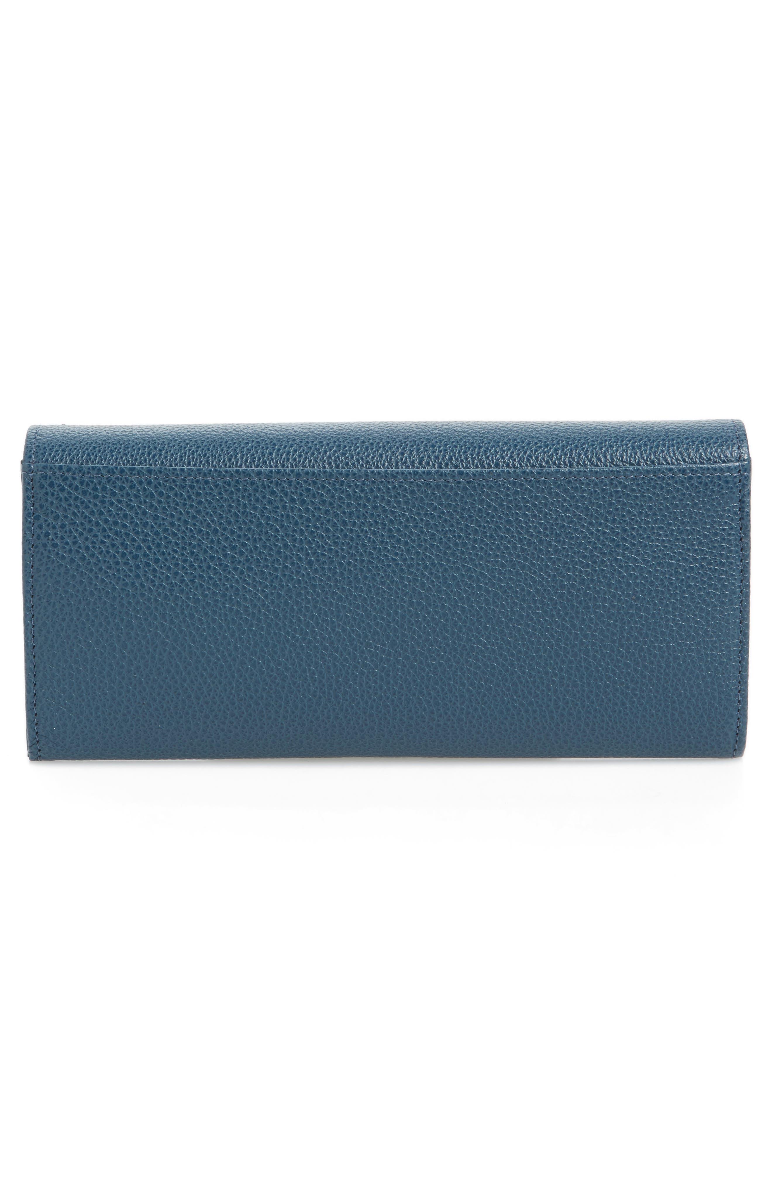 Alternate Image 4  - Longchamp 'Veau Foulonne' Continental Wallet